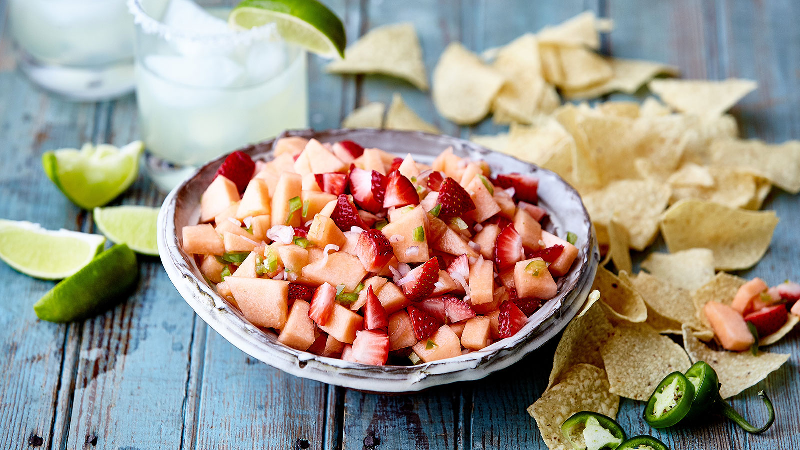 Spicy Watermelon and Berry Salsa