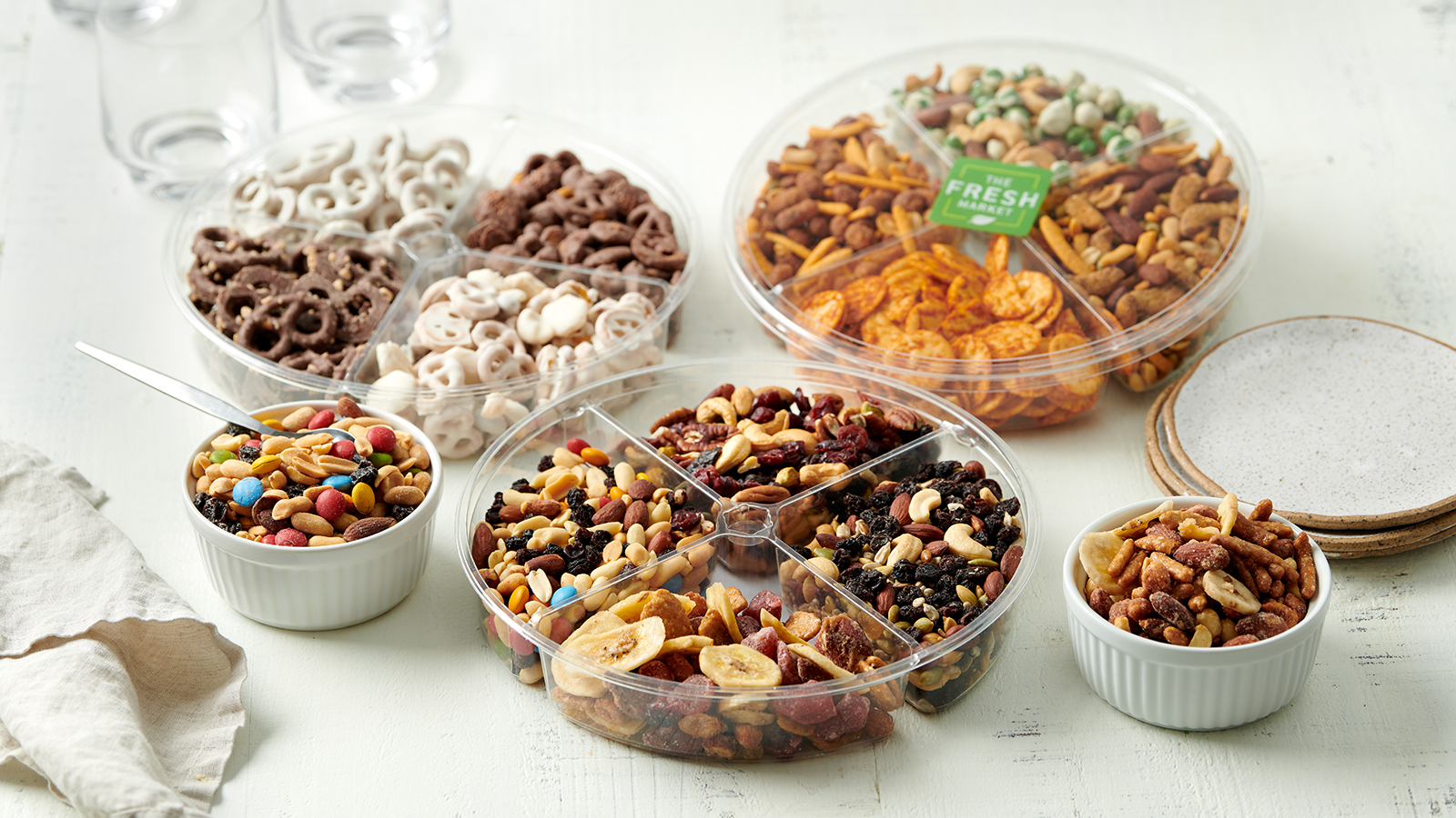 Bulk snack trays