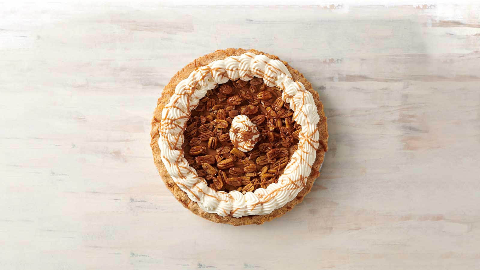 Pumpkin Praline Cream Pie