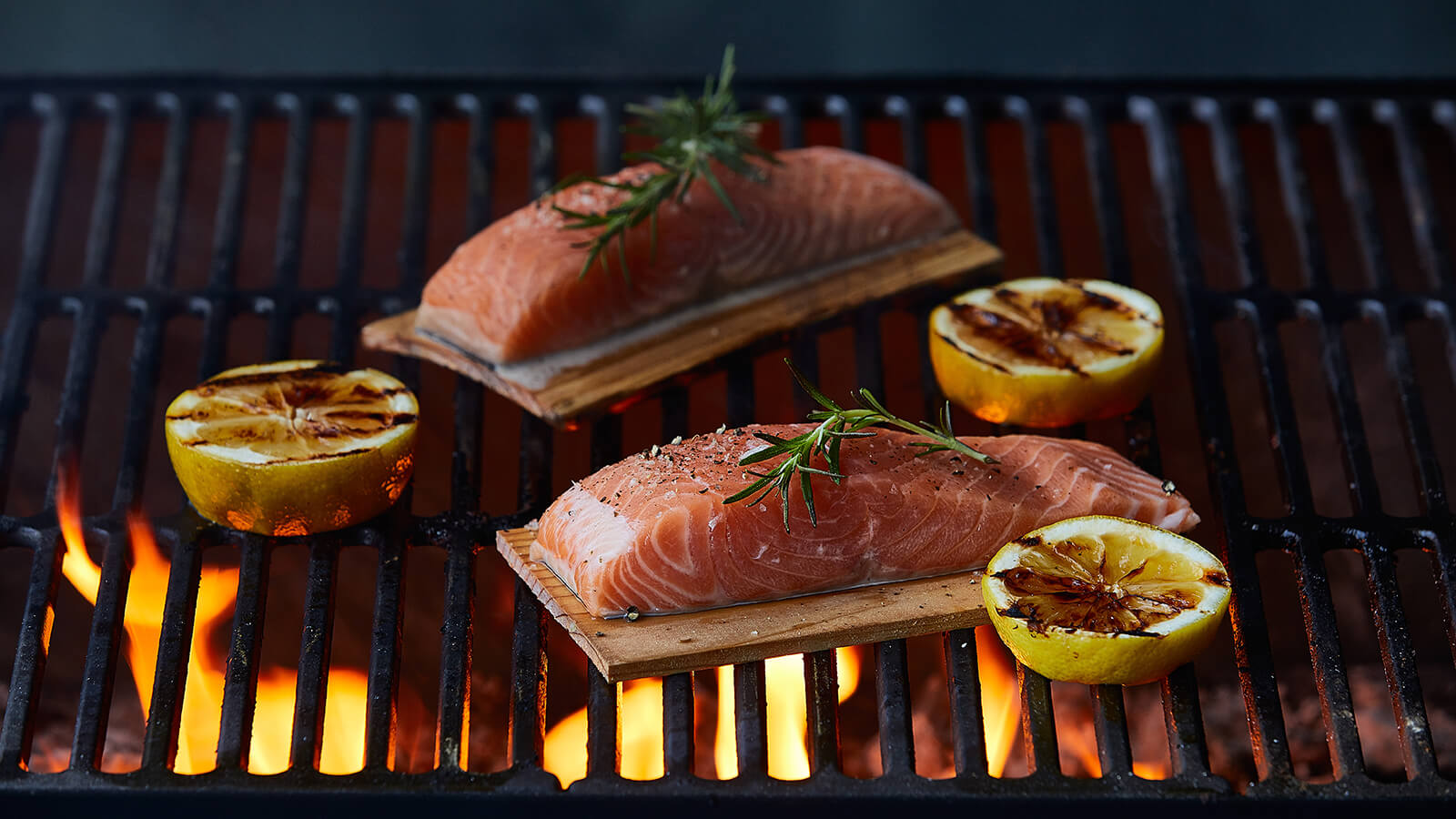 salmon planks on grill