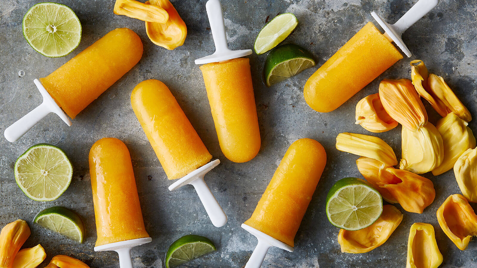 Jackfruit Citrus Pops