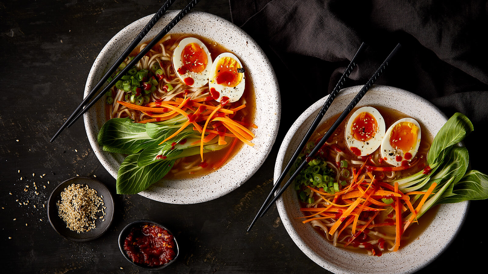 Weeknight Ramen Bowls