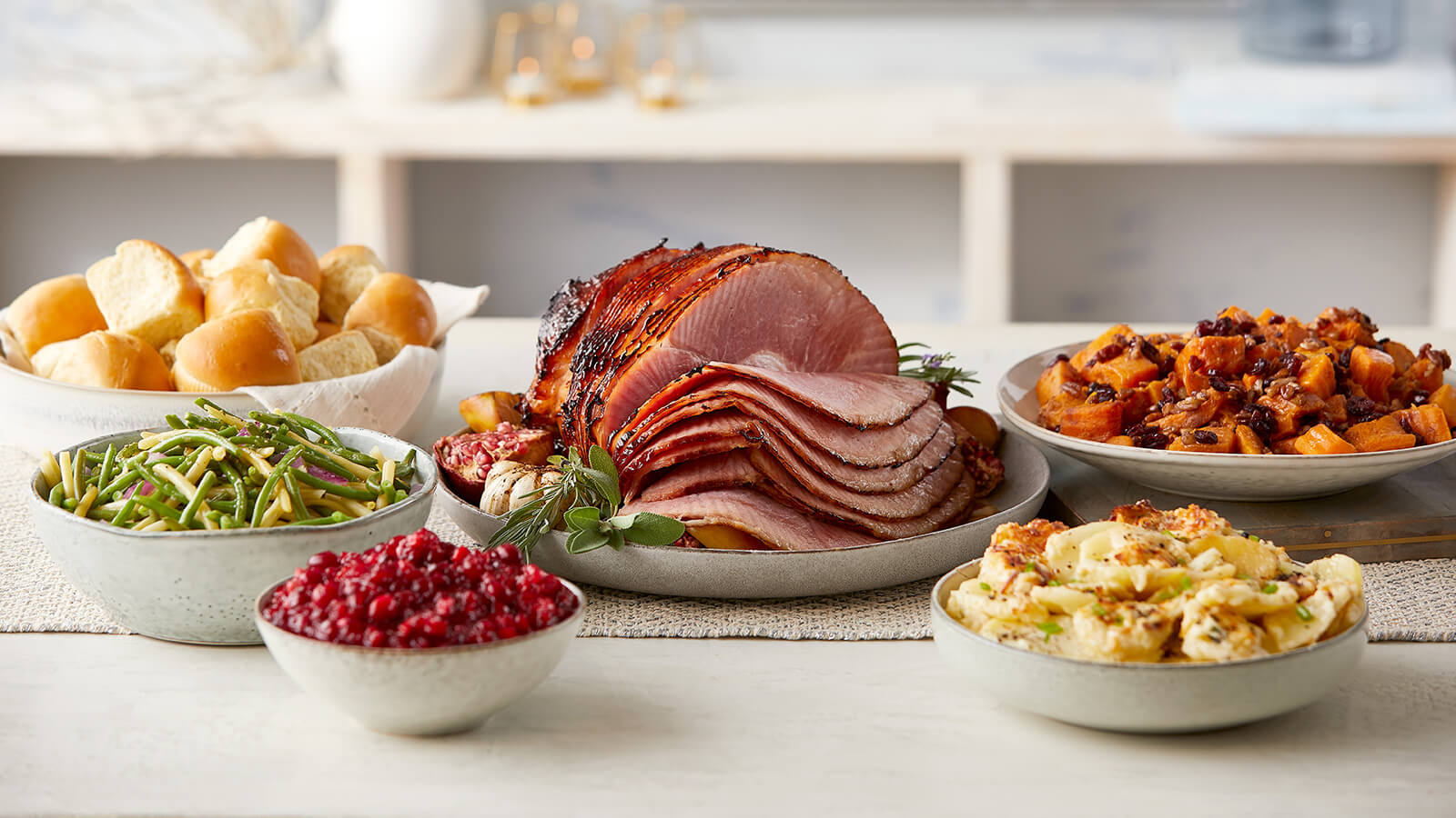 Holiday Ham Meal