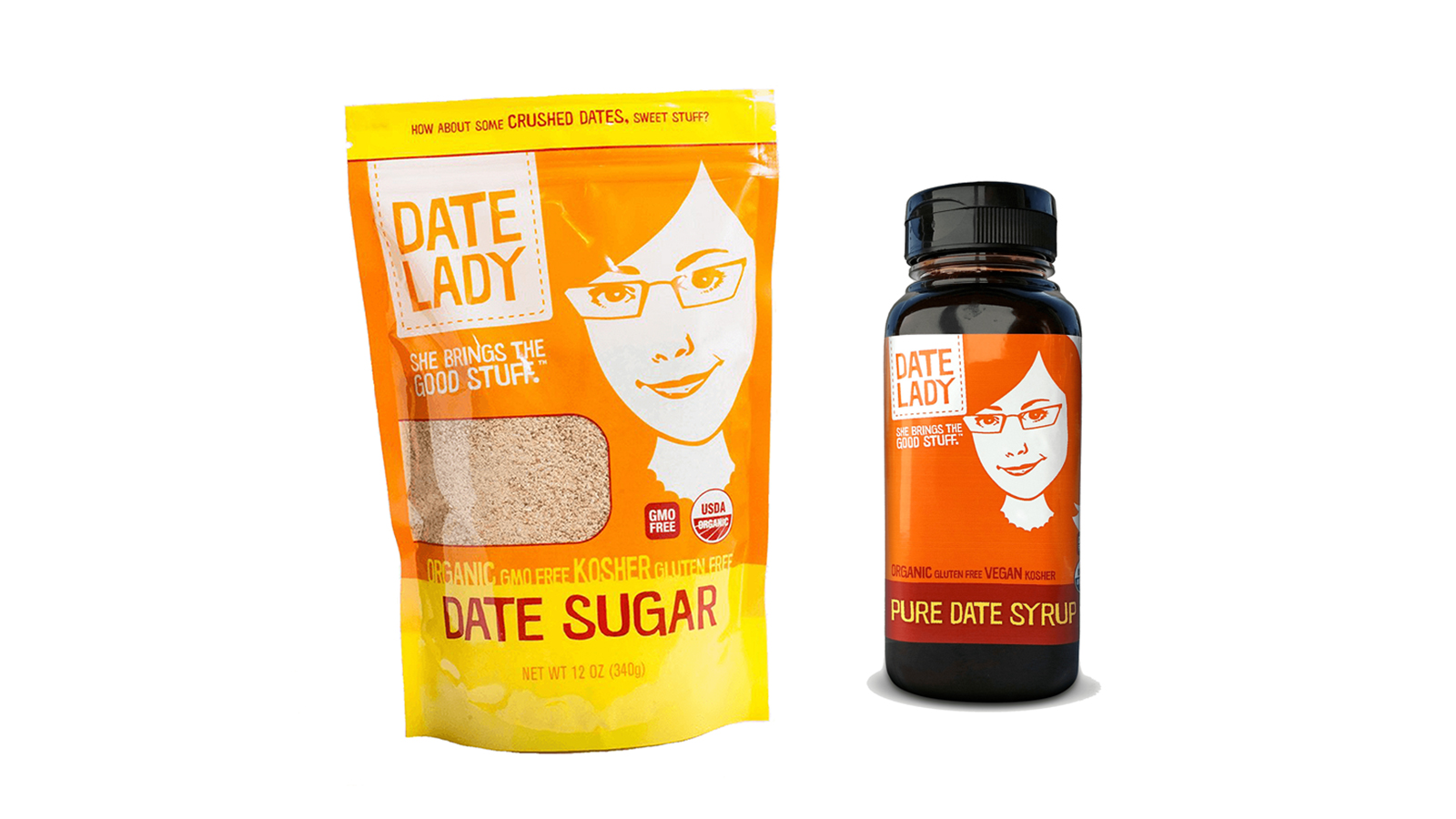 Date Lady Organic Date Sugar and Syrup
