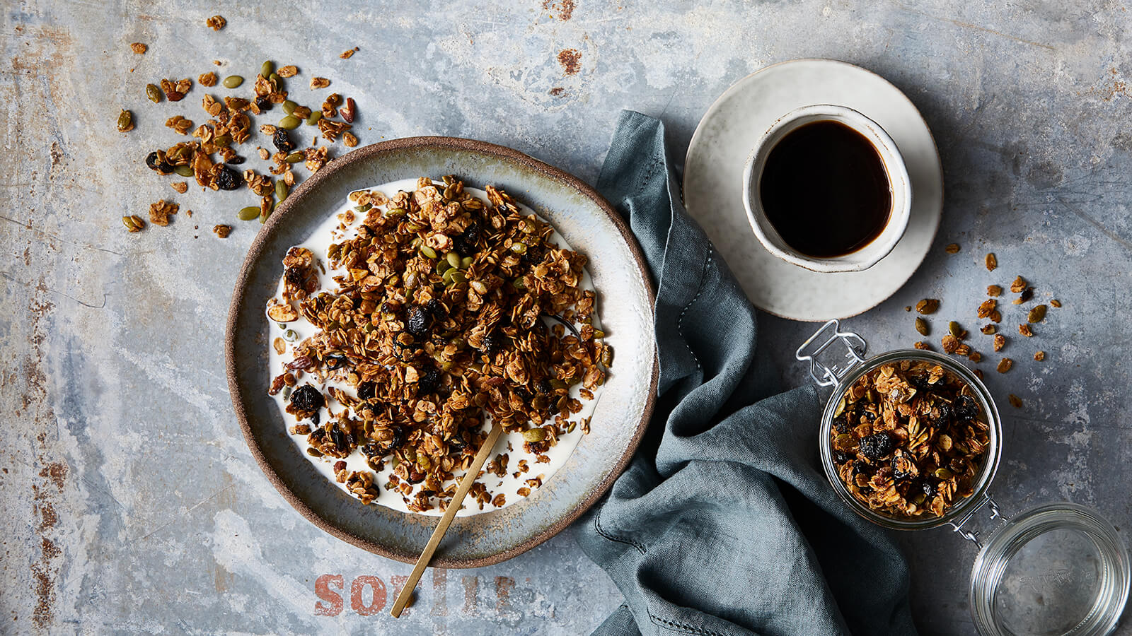 Cherry and Pepita Granola
