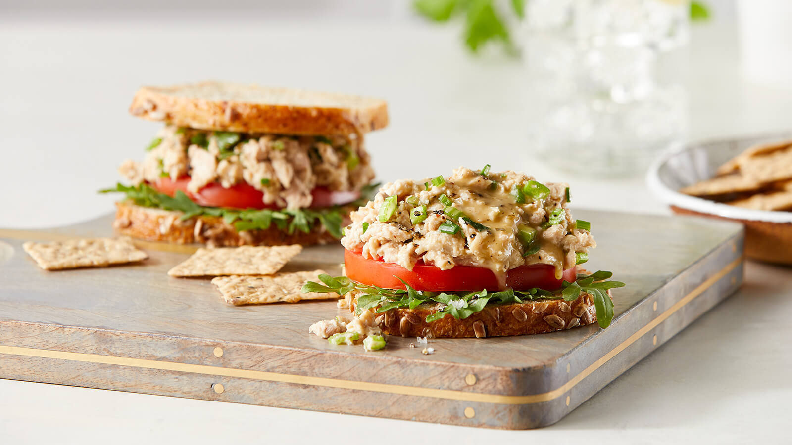 Green Goddess Tuna Salad
