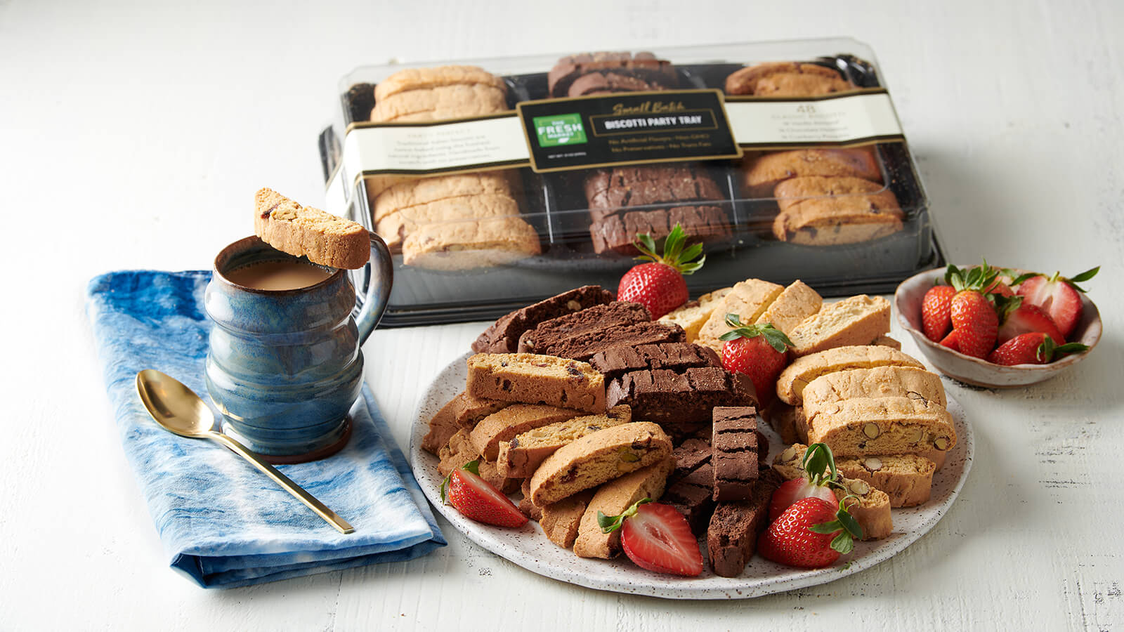 Biscotti Party Tray