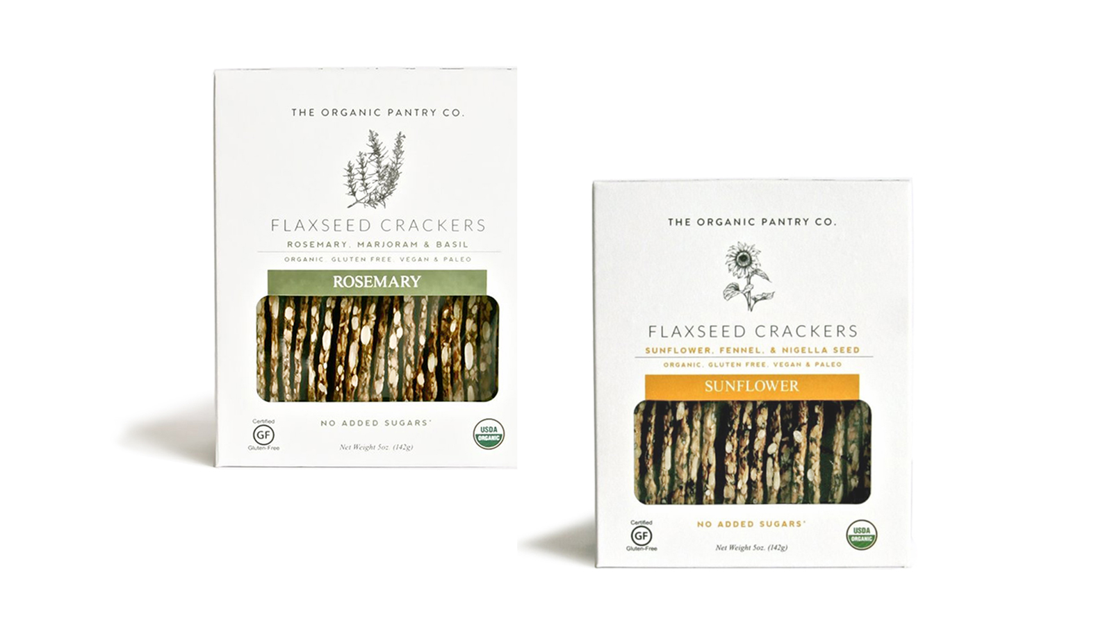 The Organic Pantry Co. Flaxseed Crackers