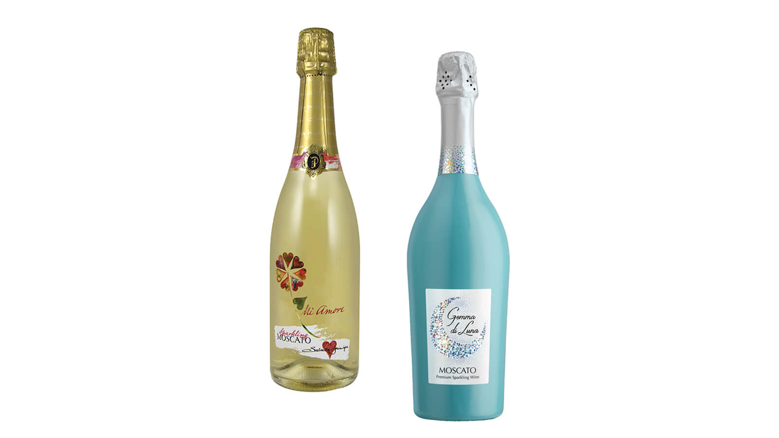 moscato bottles
