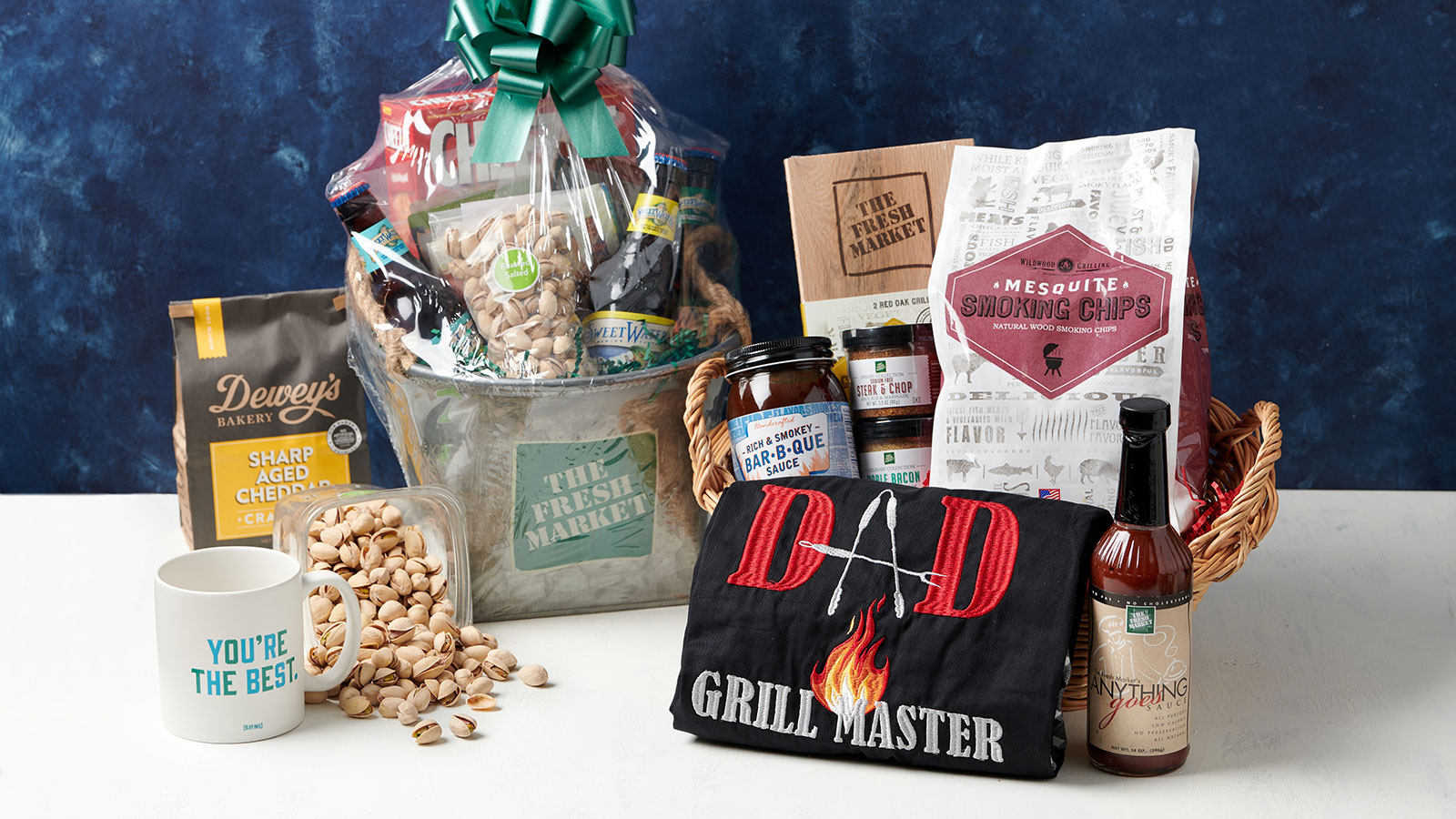 custom father's day gift basket