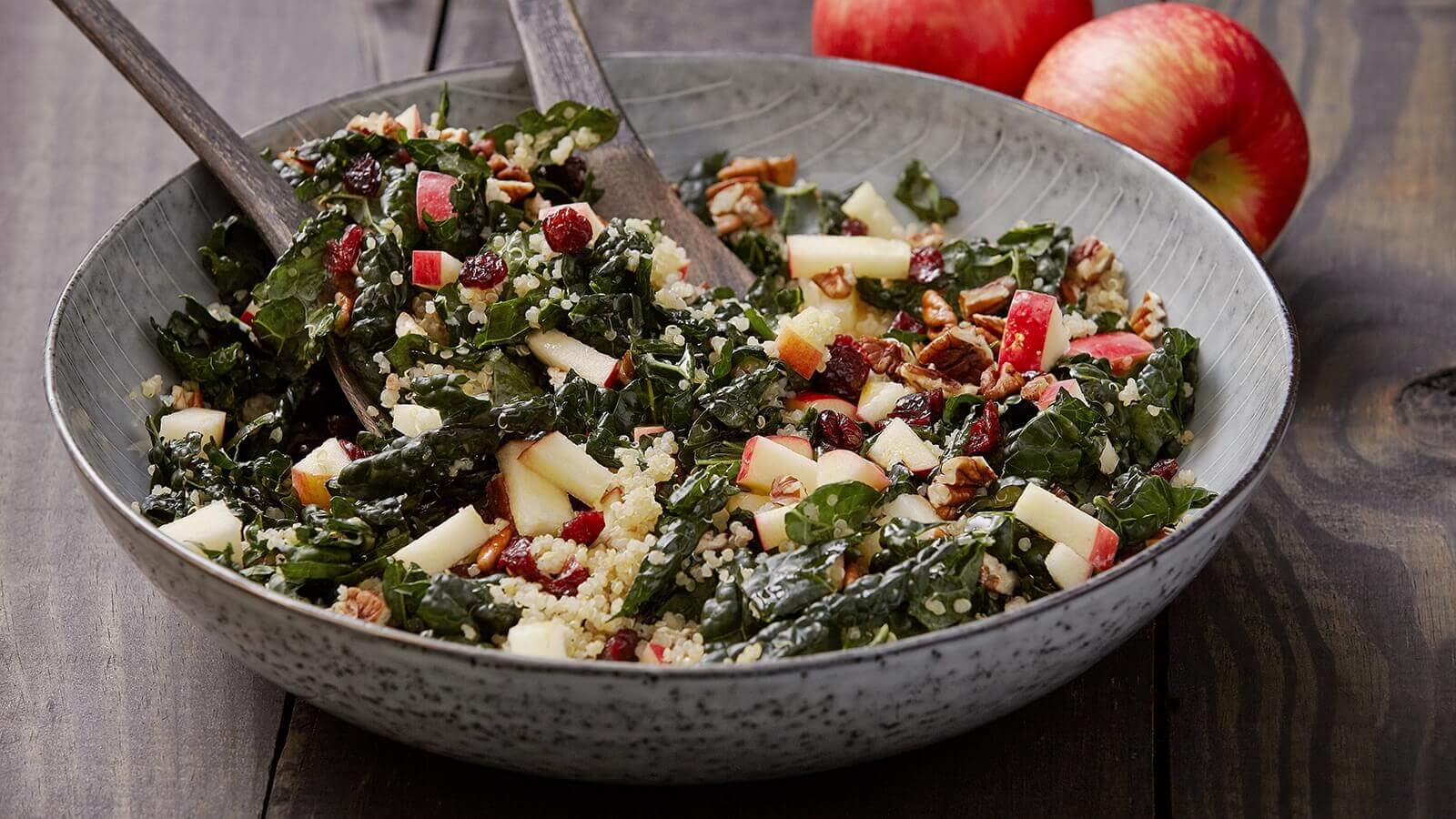 kale salad  free form page