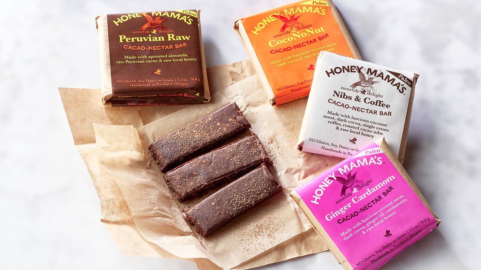 Honey Mama's Cacao-Nectar Bars