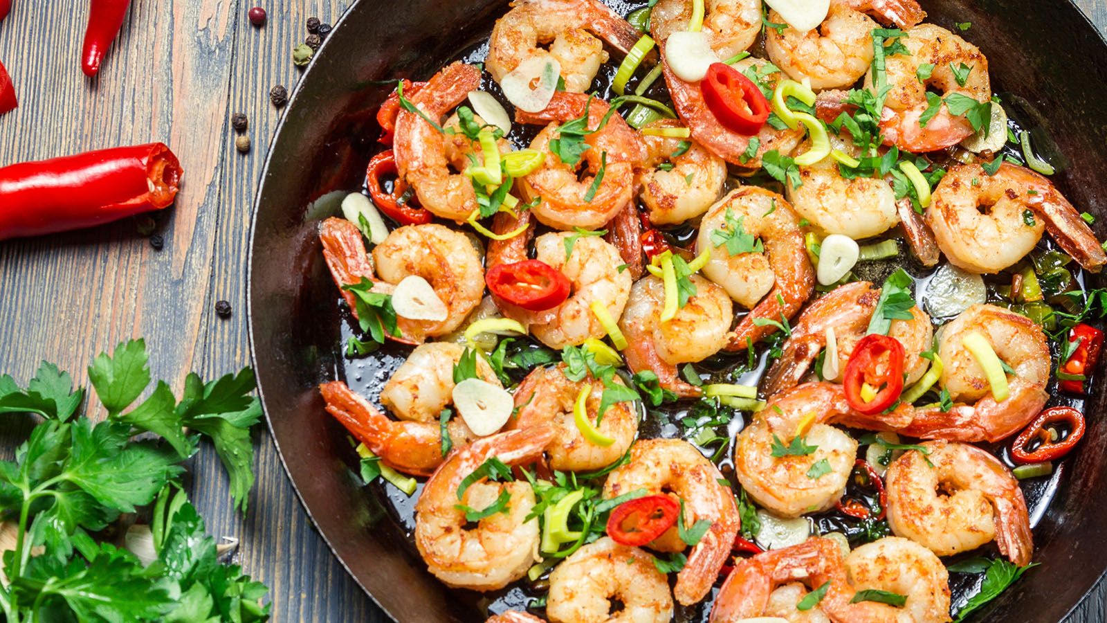 spicy shrimp tapas