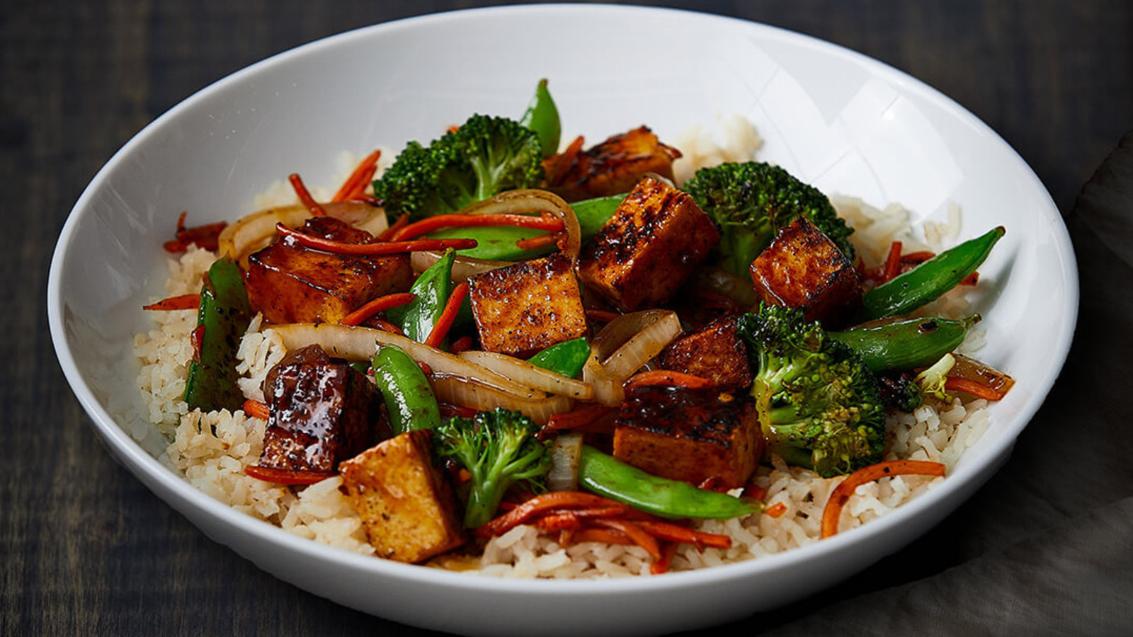 General Tso's Vegetarian Stir Fry