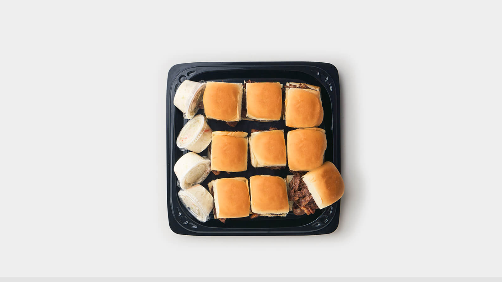 BBQ Pulled Pork Slider Tray
