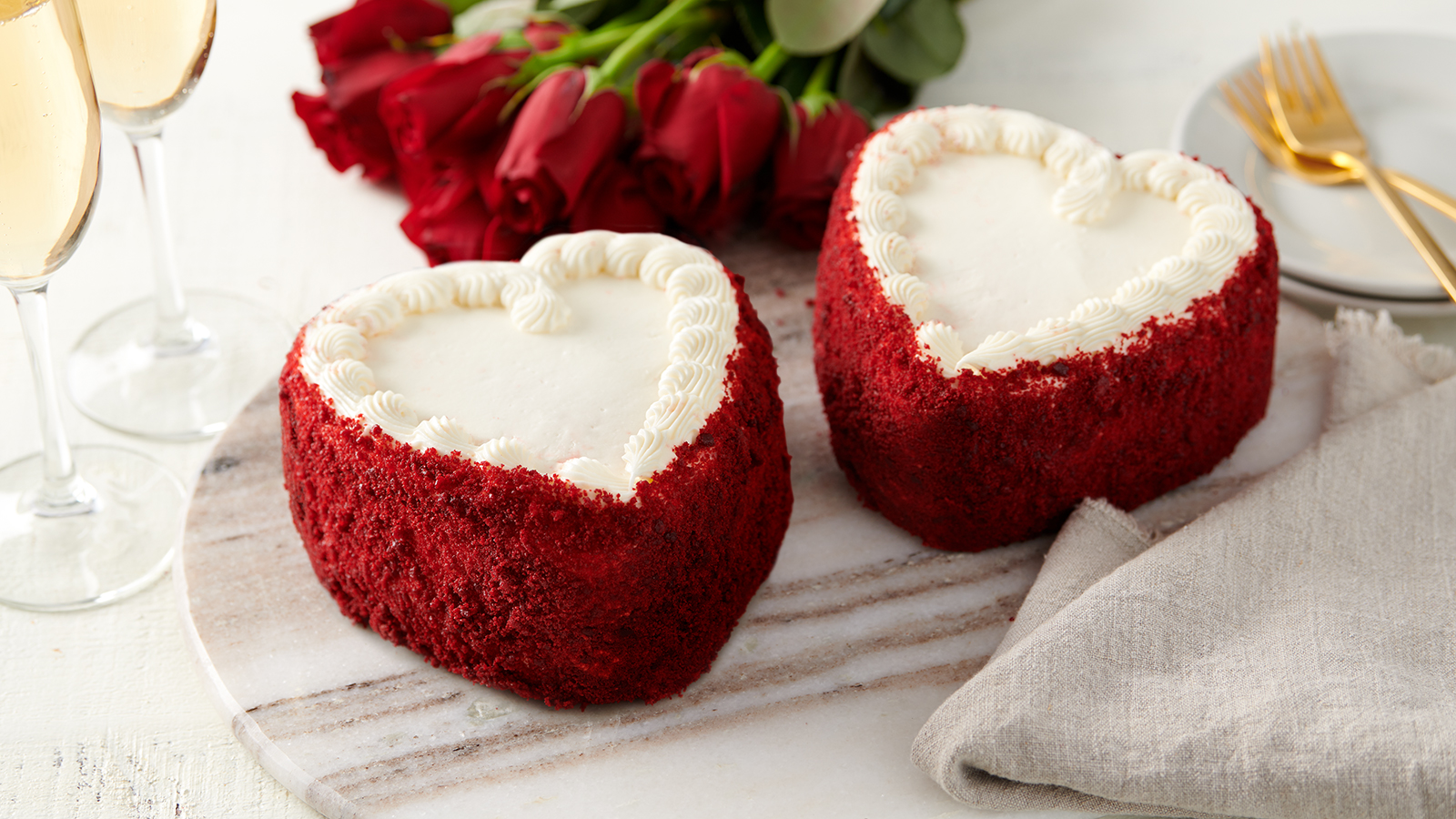 Heart Shaped Cakes