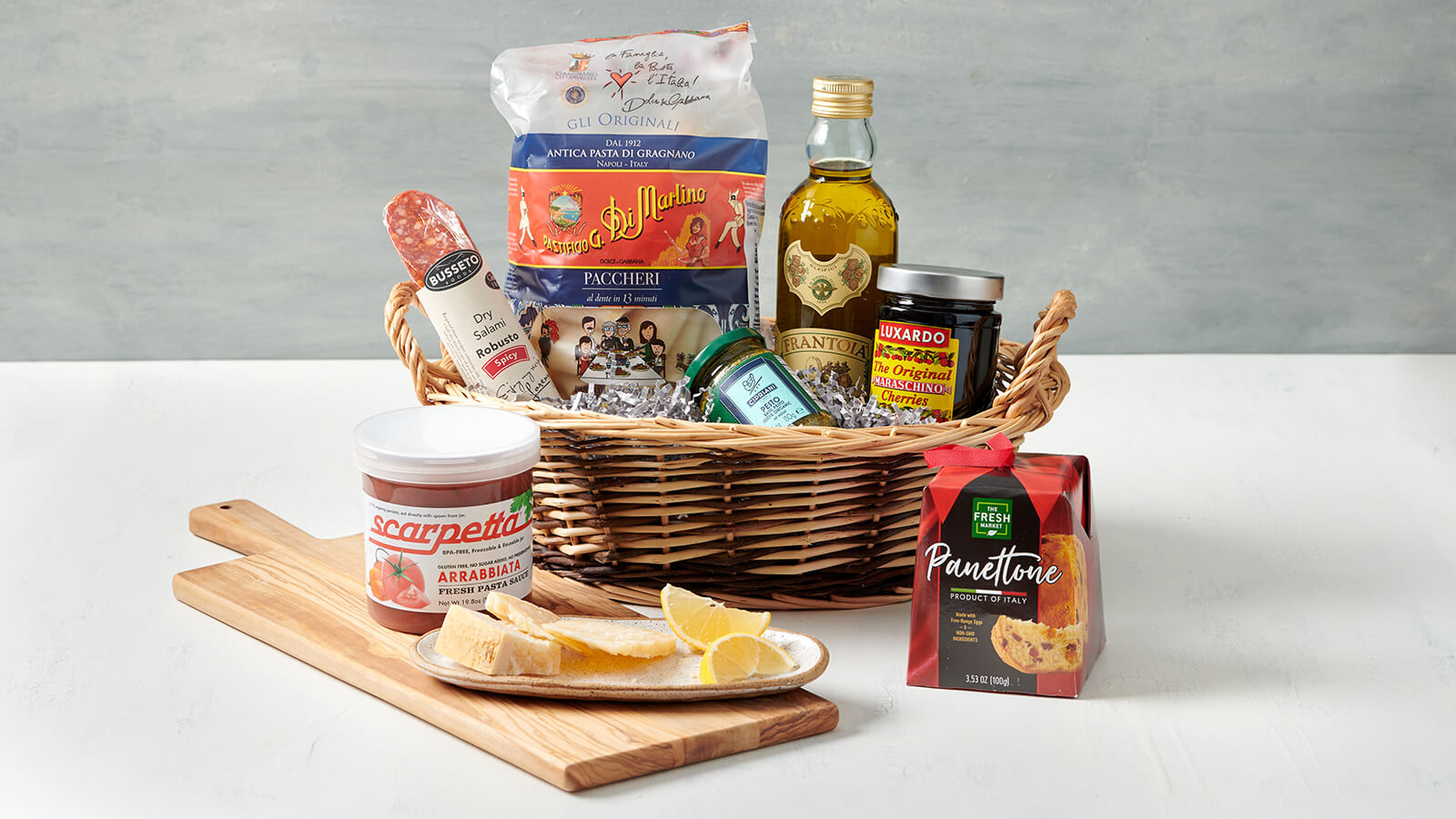 The Italian Lover Gift Basket