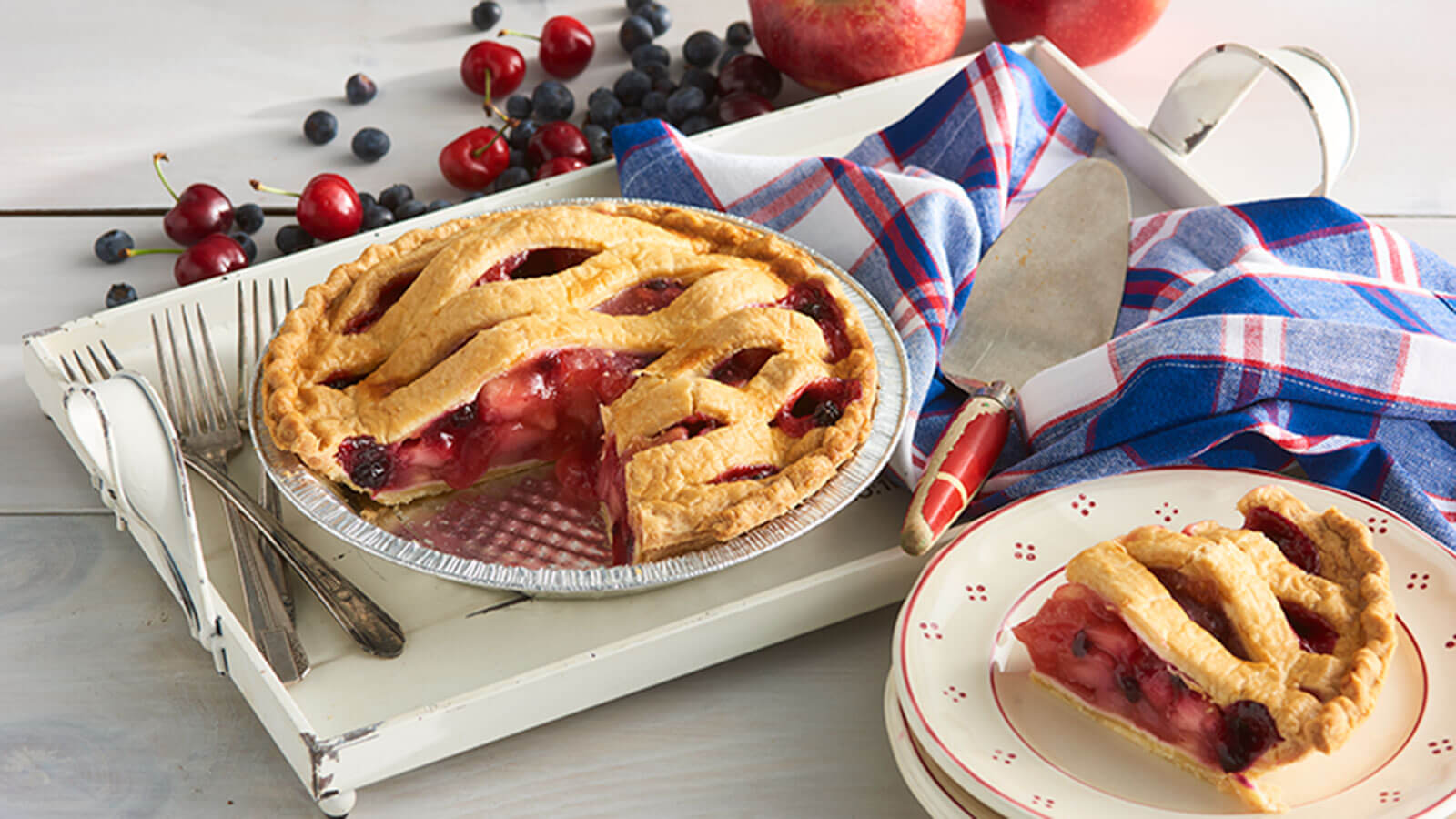 red-white-and-blue-pie