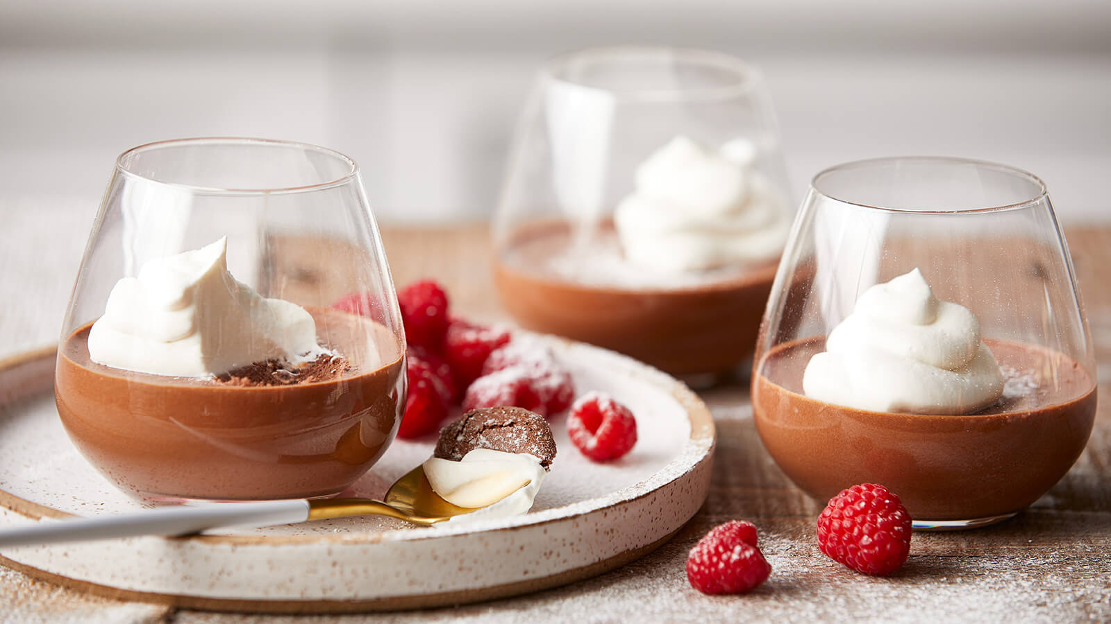 Sugar Free Dark Chocolate Mousse