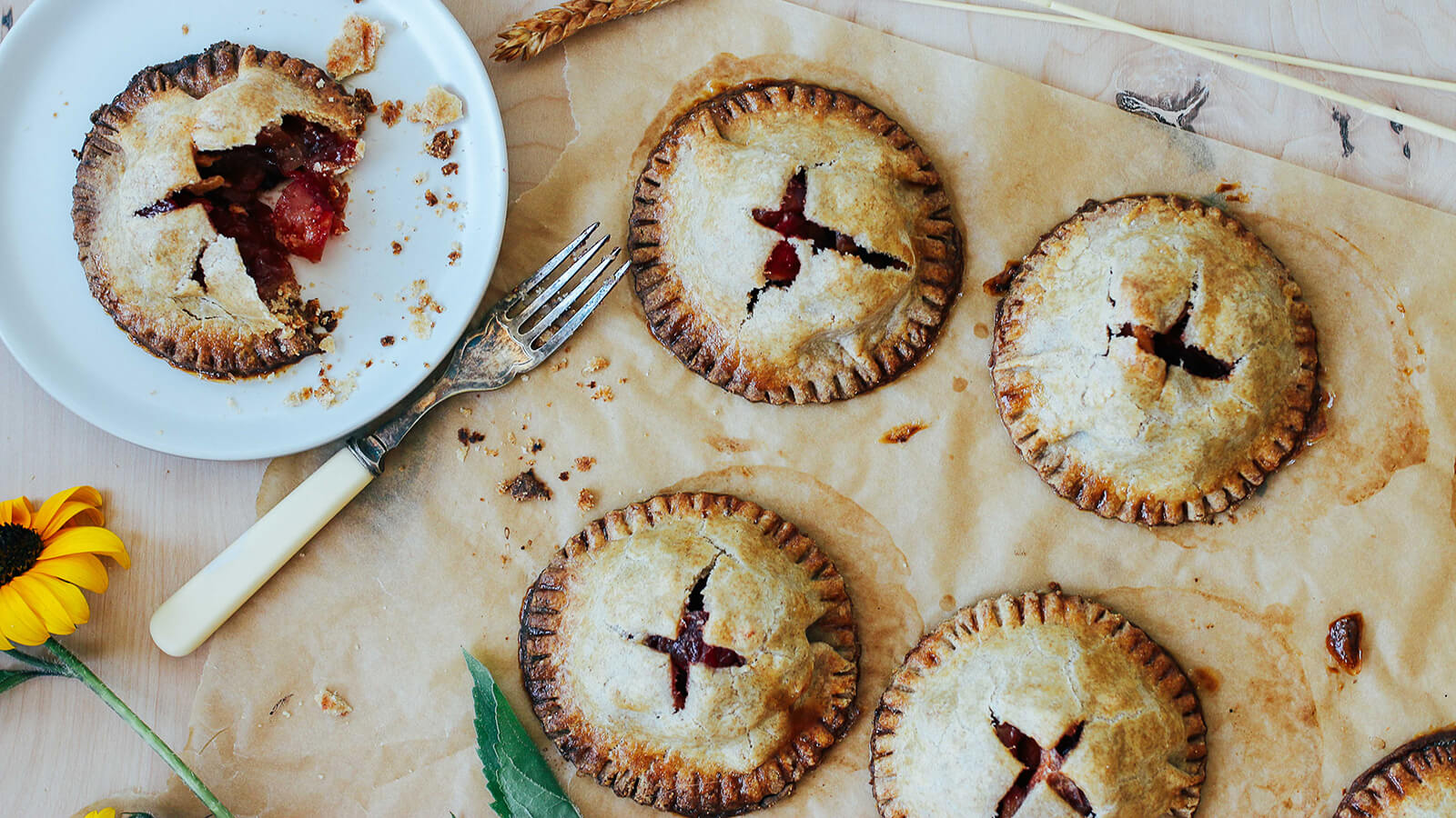 Beet & Apple Hand Pies