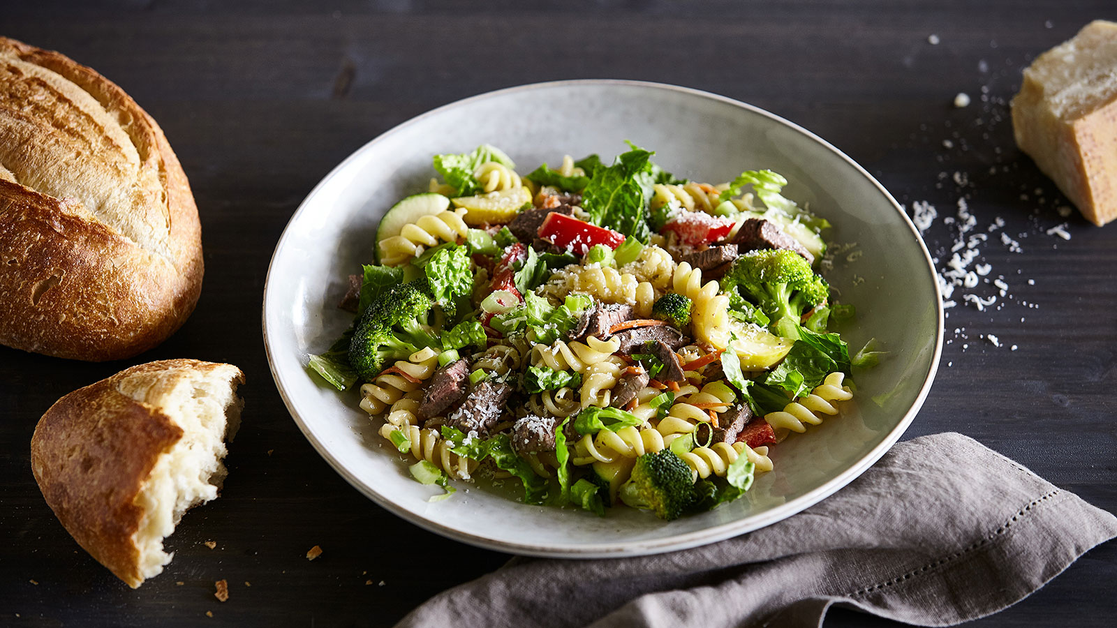 Steak-and-Veggie-Pasta-Caesar-Salad