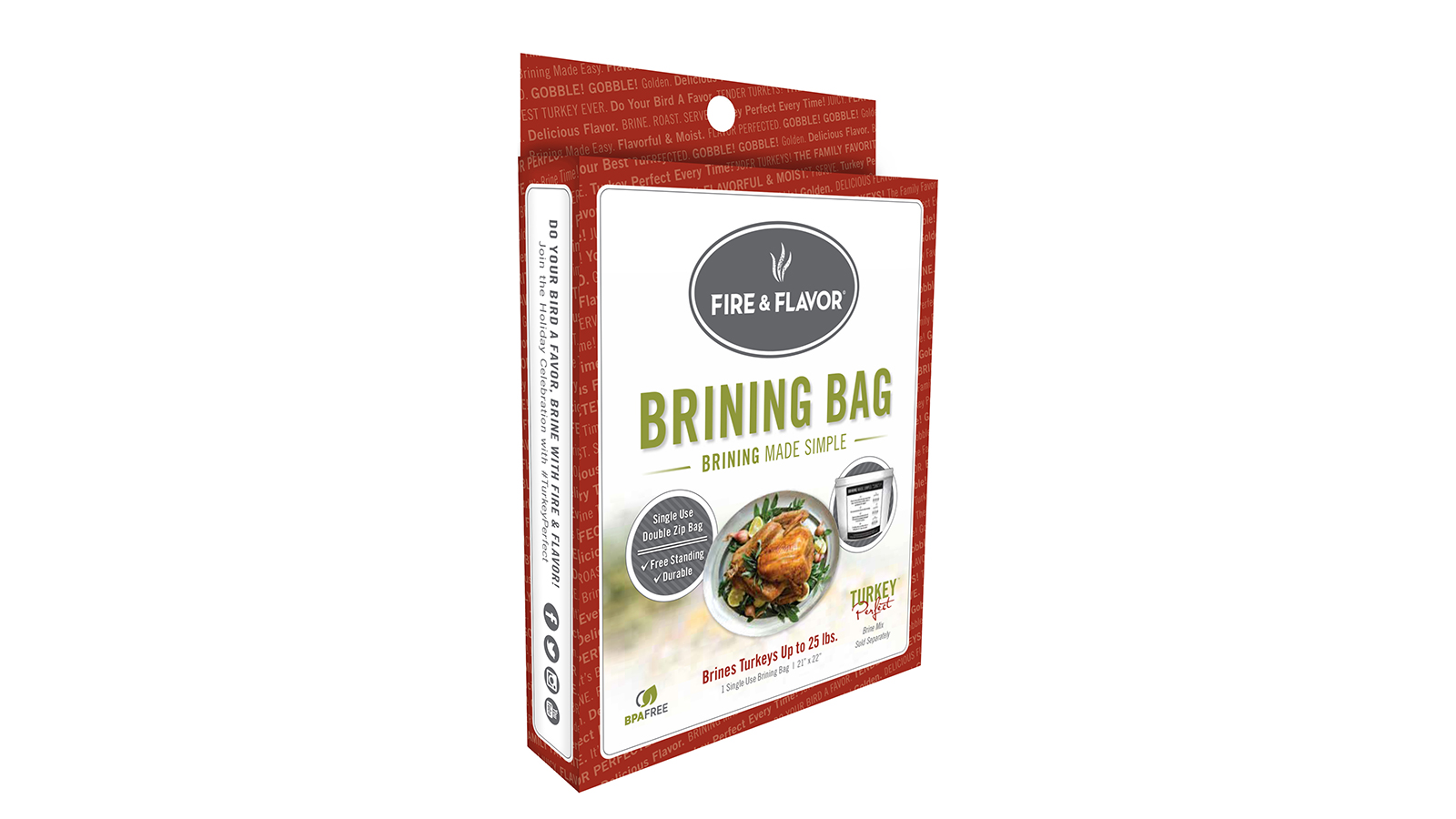 Fire and Flavor Brining Bags