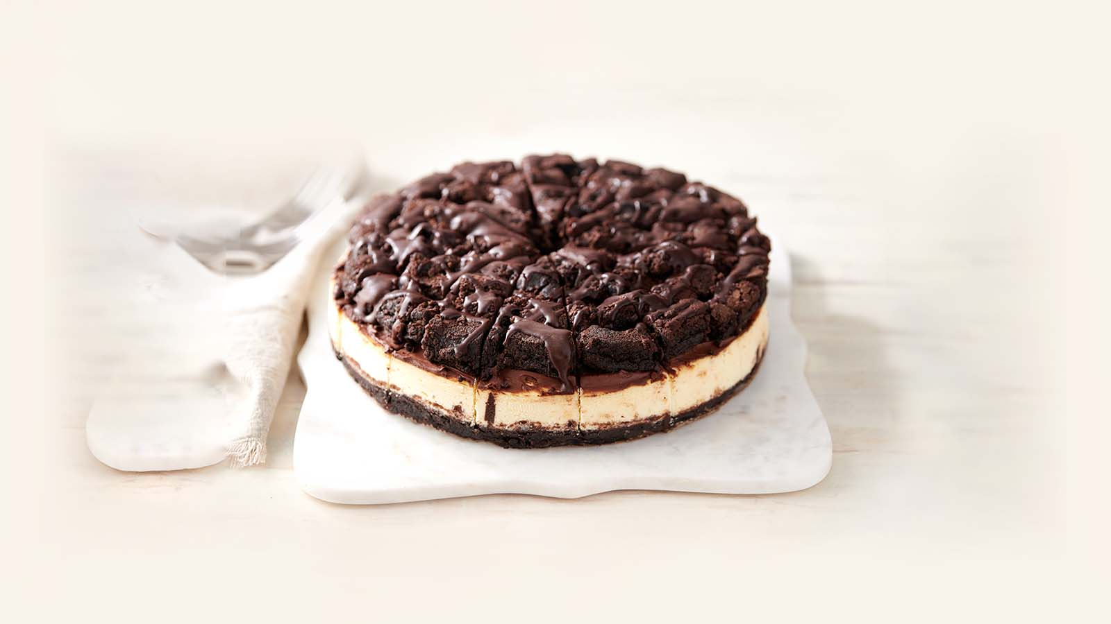 Whole Brownie Cheesecake