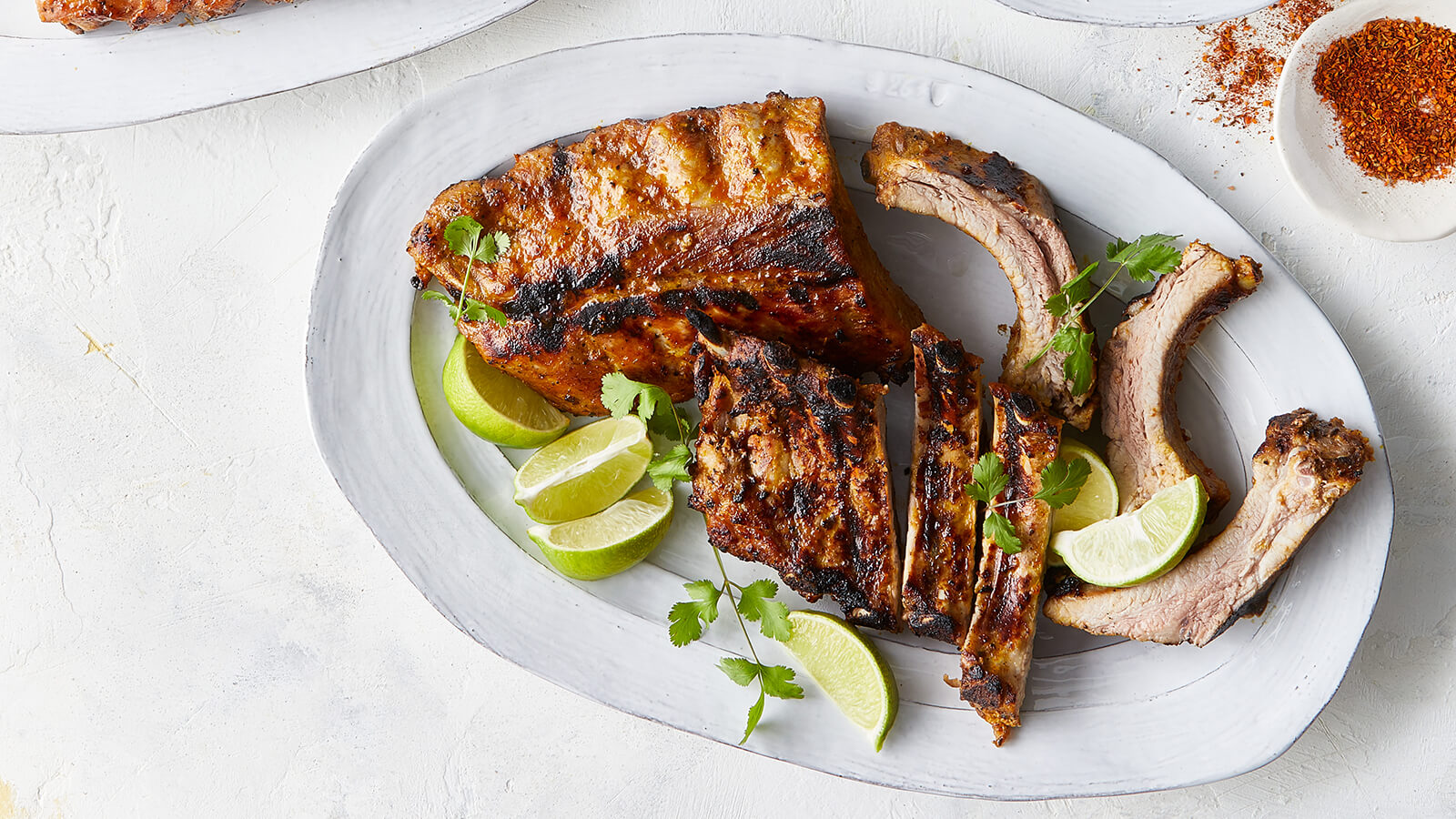 Peruvian Style Sweet and Spicy Ribs
