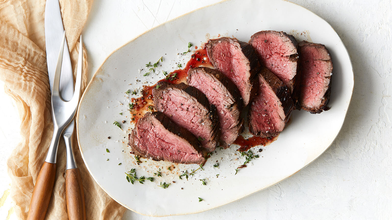 Cider Marinated Beef Tenderloin
