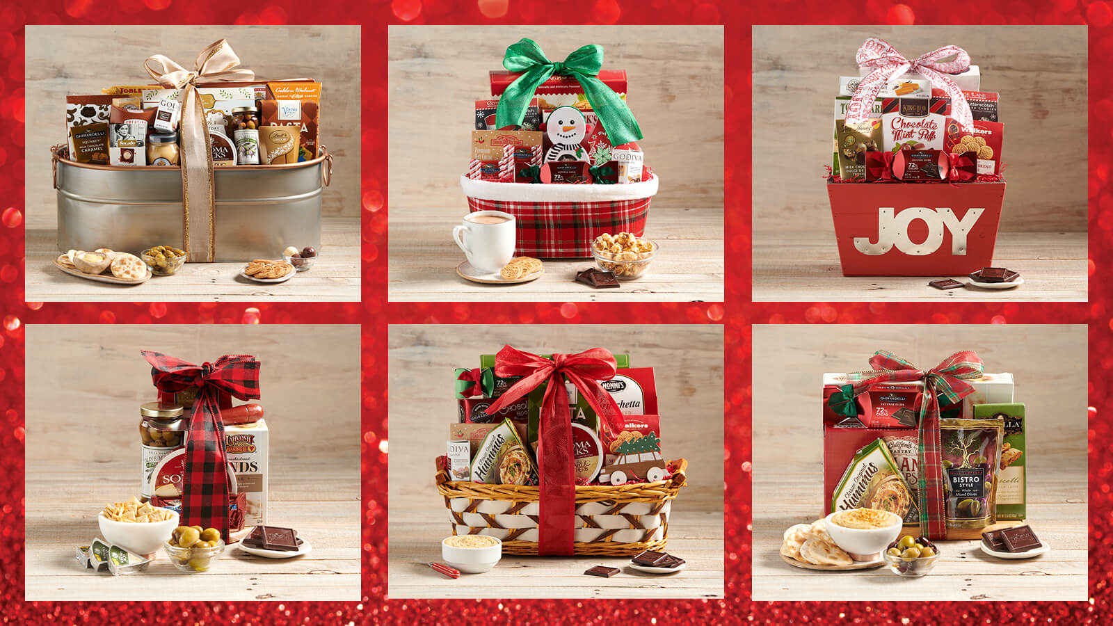 Holiday Gift Baskets from The Fresh Market
