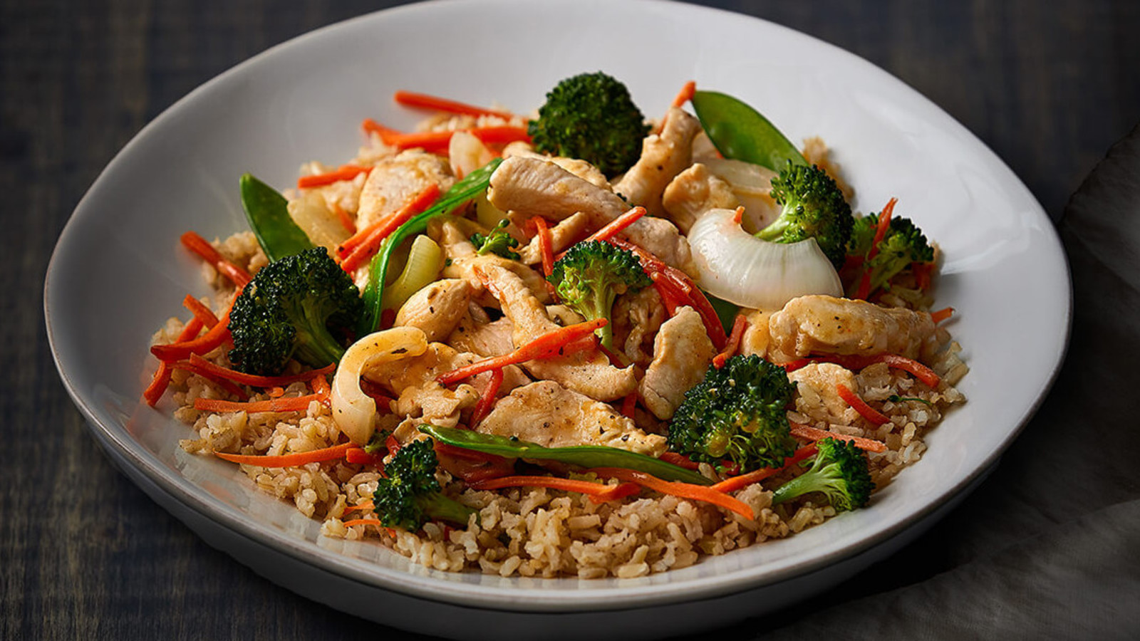 Lemongrass Stir Fry with Organic Chicken