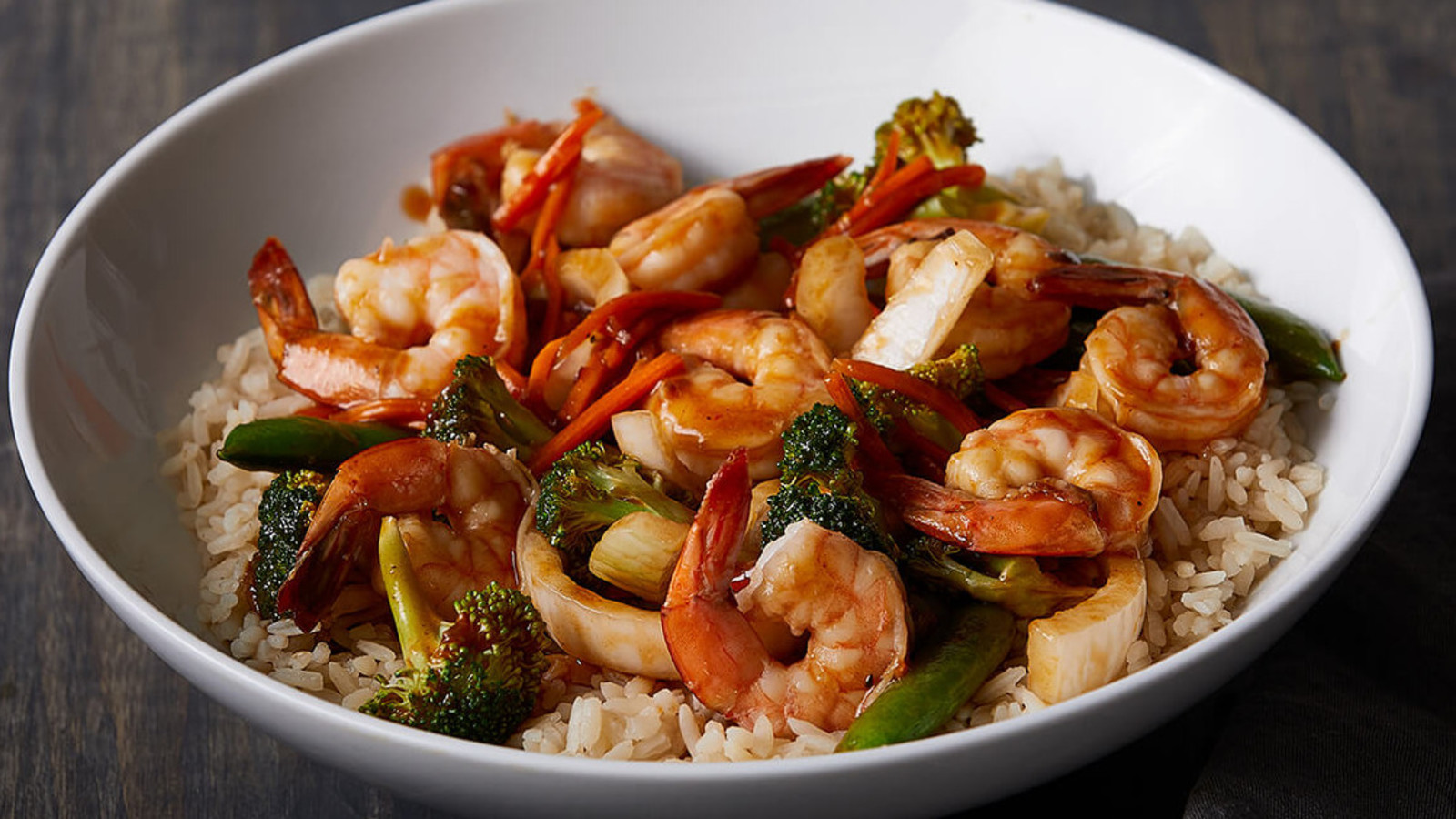 Szechuan Shrimp Stir Fry