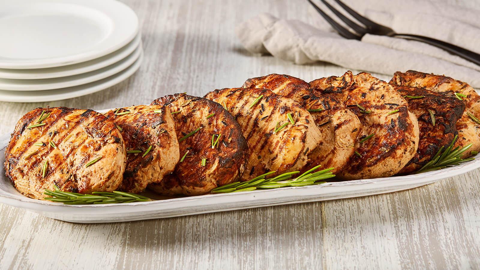 Balsamic Rosemary Grilled Chicken