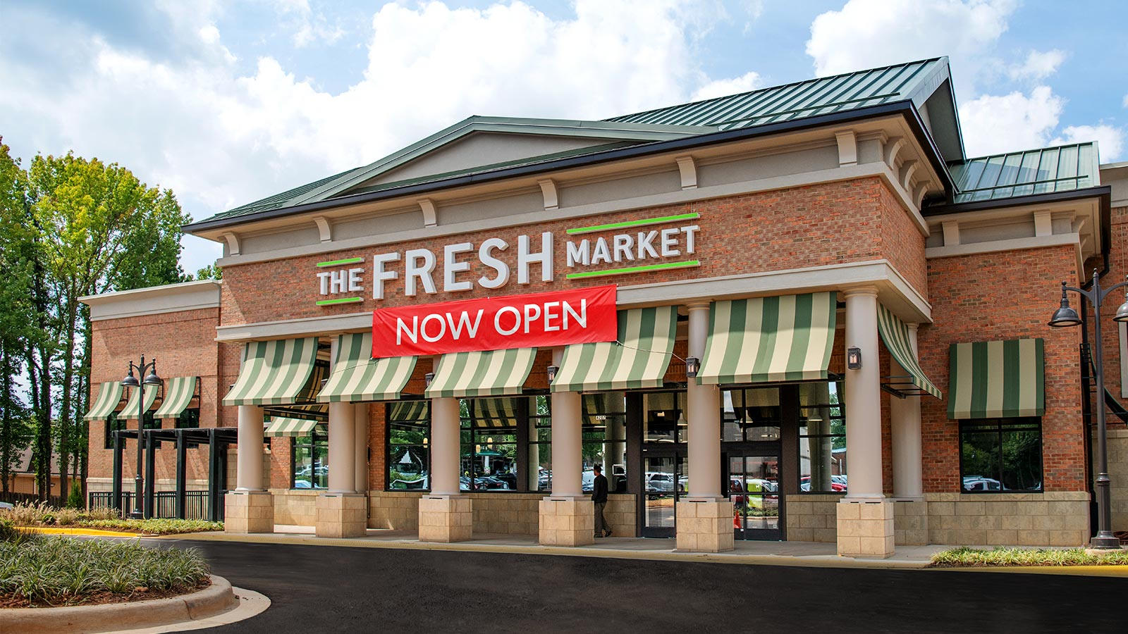 The Fresh Market new store location at Strawberry Hill in Charlotte NC