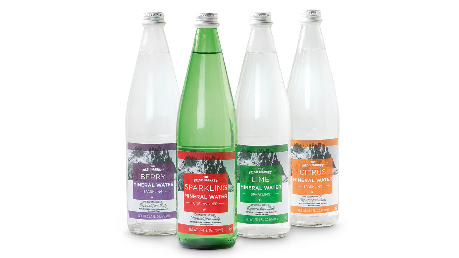 The Fresh Market Sparkling Italian Mineral Water