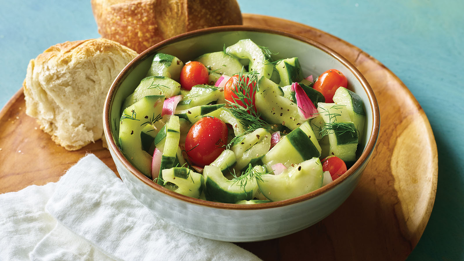 Cucumber Dilly Salad