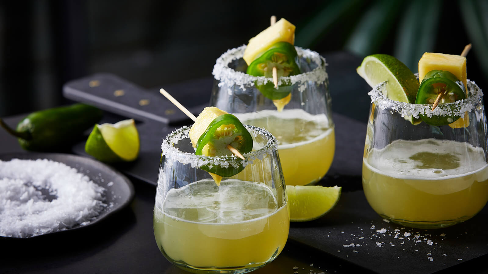 Down the Hatch (Chile) Pineapple Margarita