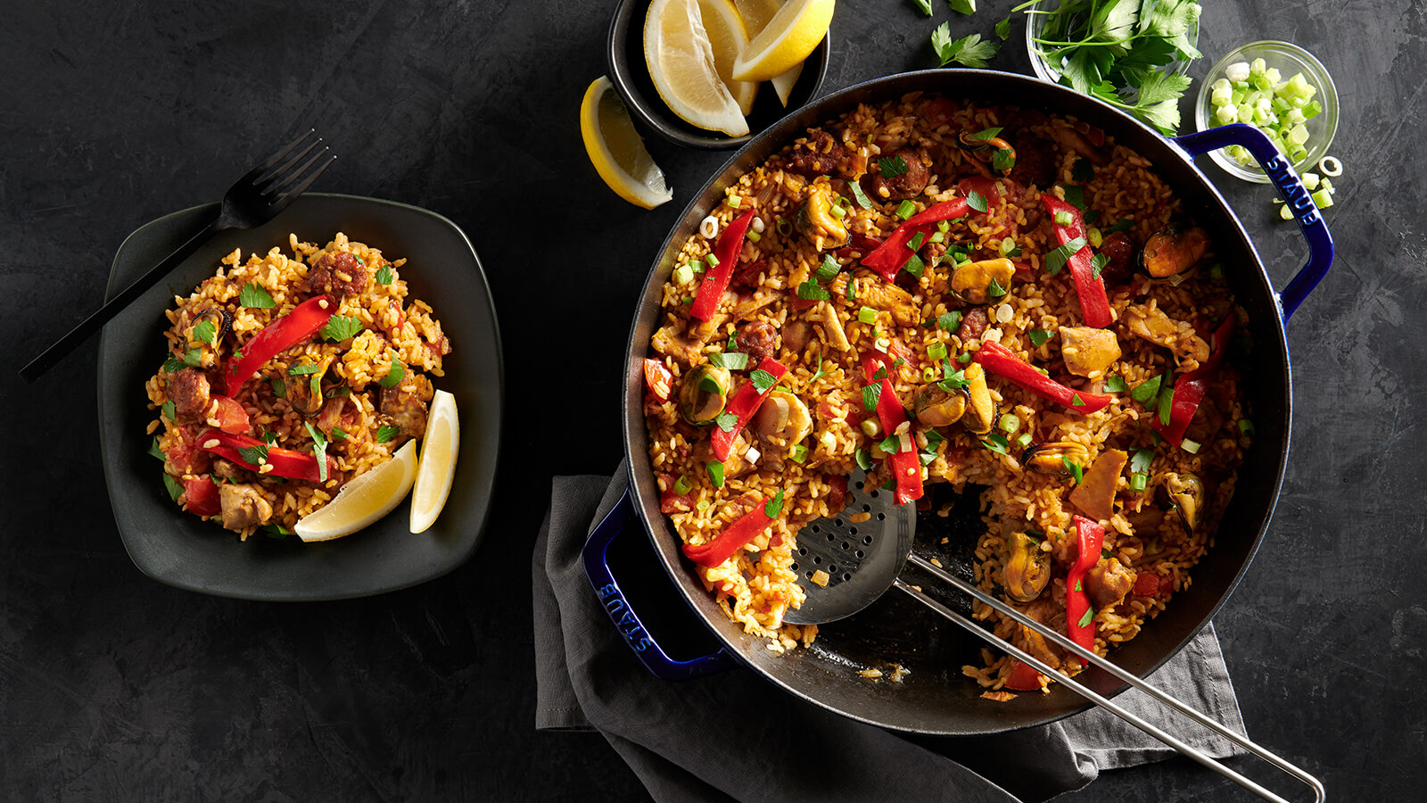 Weeknight Skillet Paella
