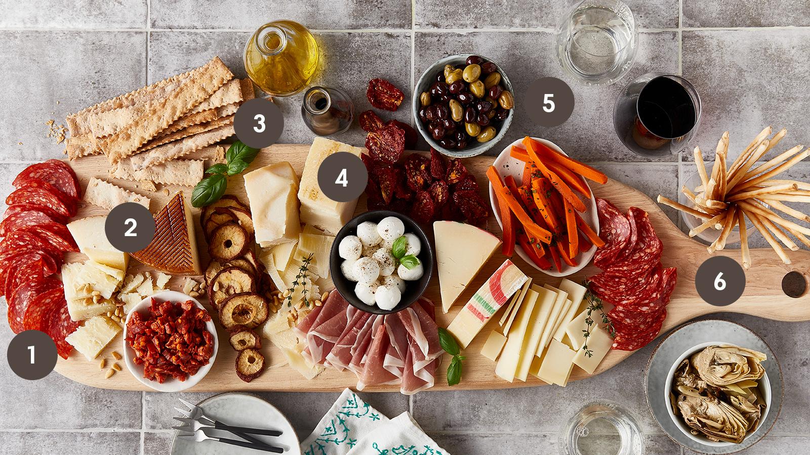The Perfect Antipasto Mediterranean