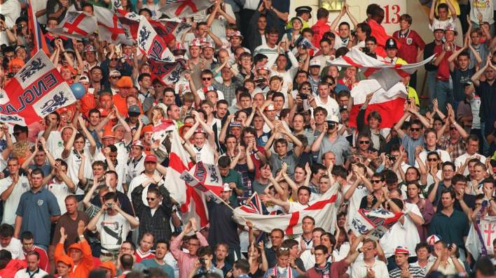 Fans will get to watch every minute from every game at Euro 96 on ITV Hub.
