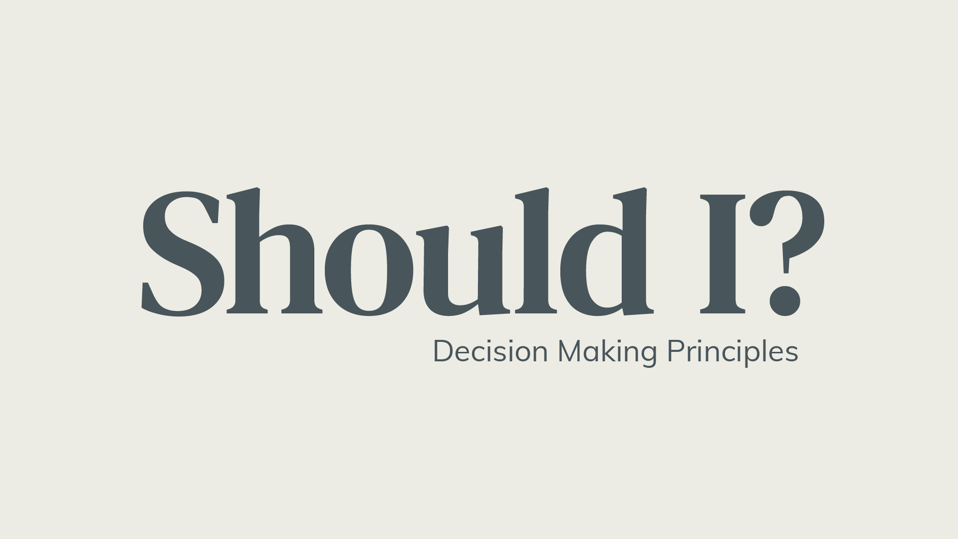 10 Biblical Principles For Making Wise Decisions Hero Image