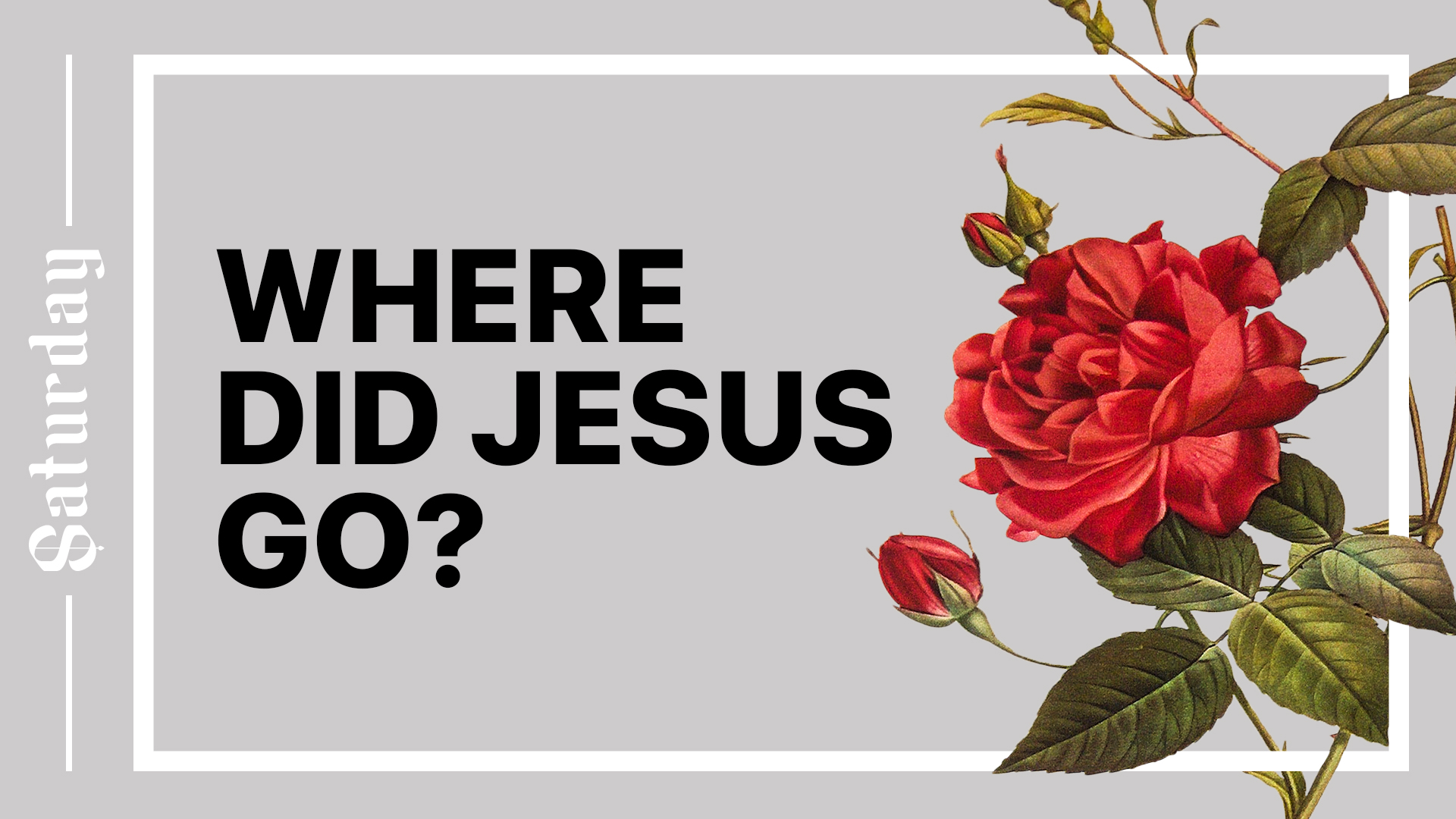 Where Did Jesus Go? Hero Image
