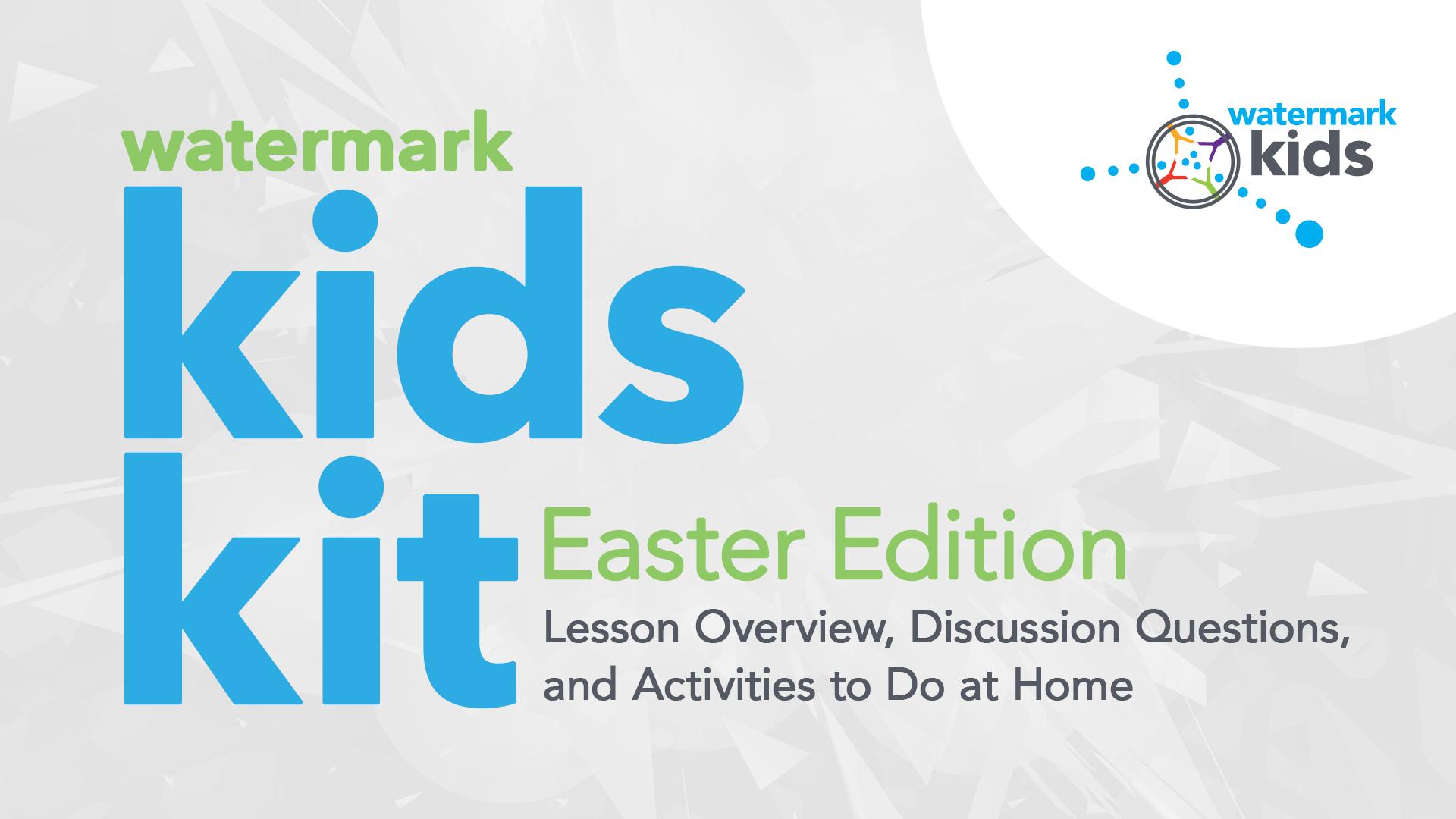 Watermark Kids Kit: Easter Edition Hero Image