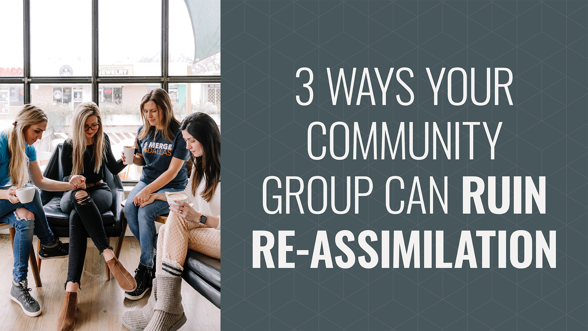 "3 Ways Your Community Group Can Ruin the Return to ""Normal"" Hero Image"