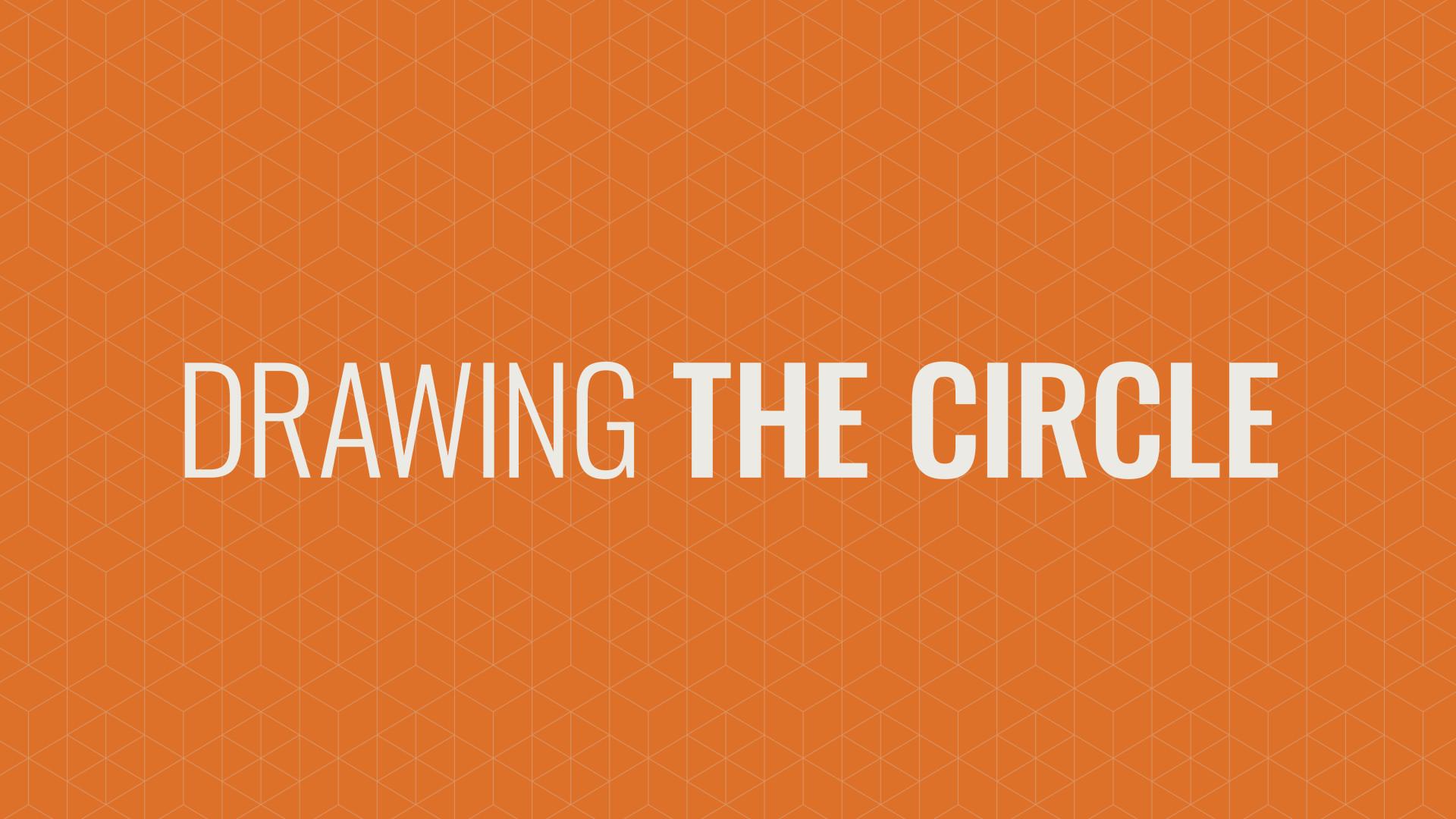 Draw a Circle Around Yourself Hero Image