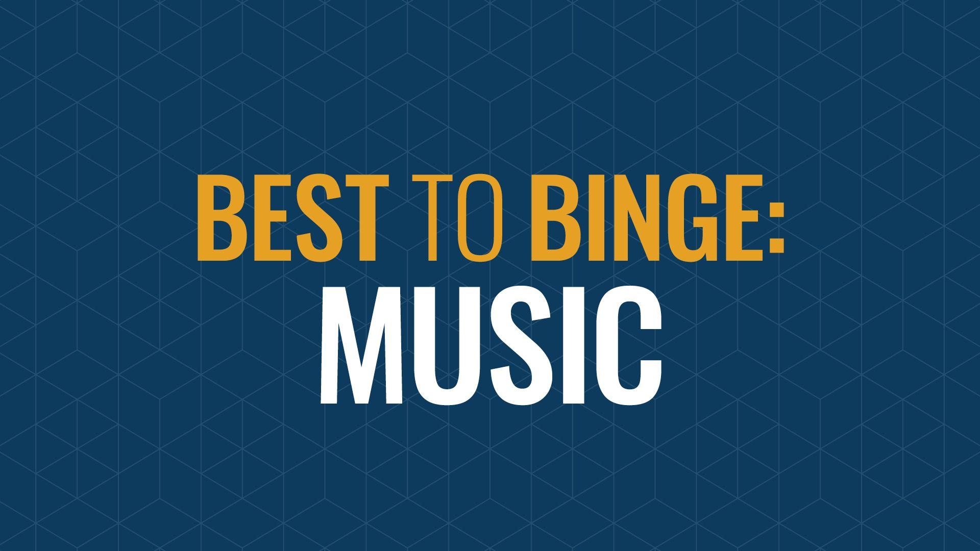 Binge-Worthy Playlists Hero Image