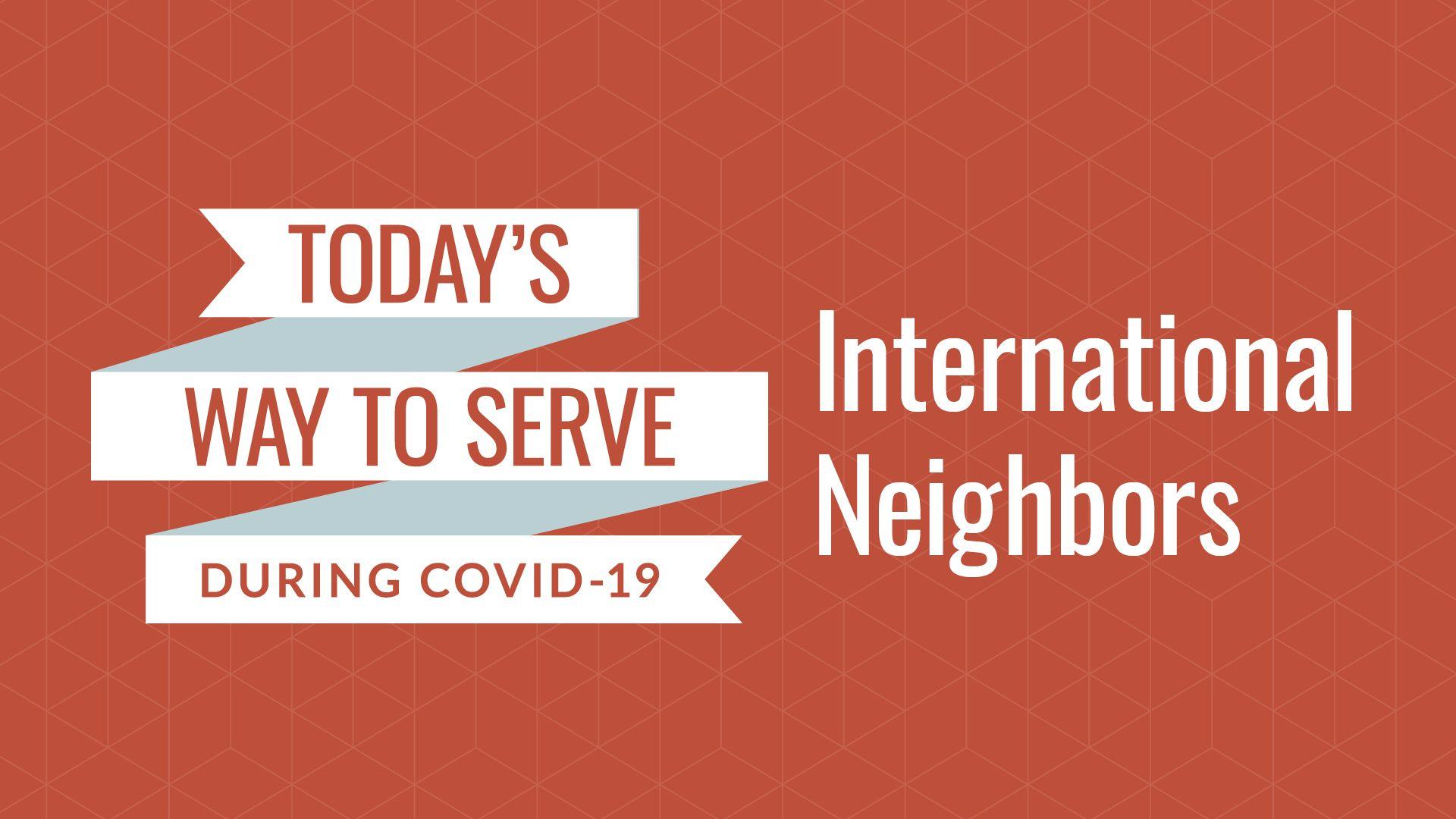 International Neighbors Hero Image