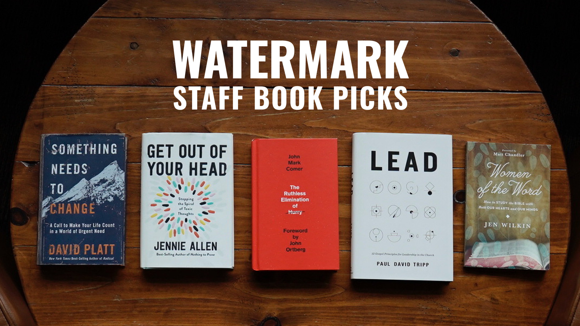 Watermark Staff Book Recommendations for 2021 Hero Image