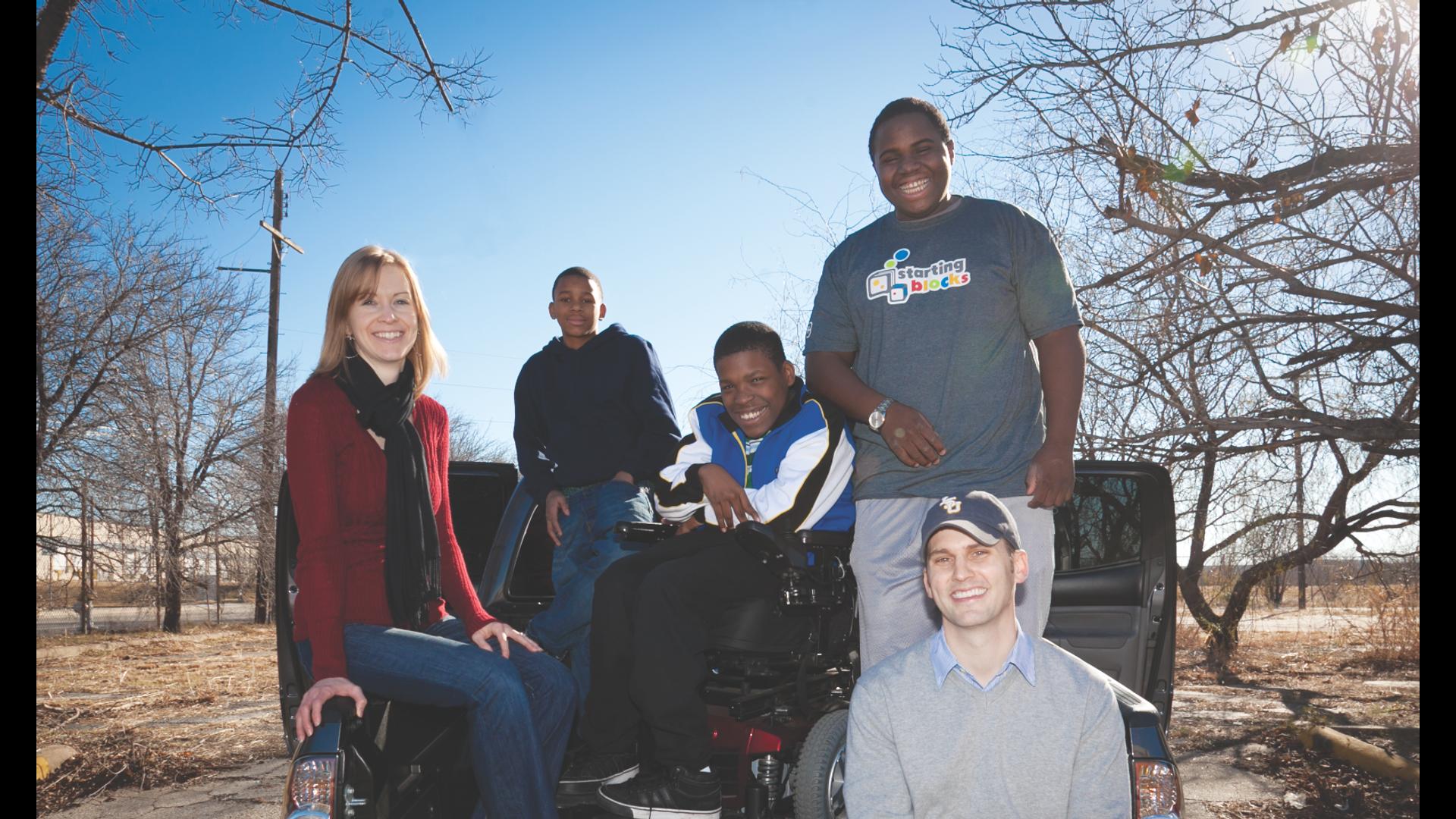 Changing Lives Through Mentoring. Hero Image