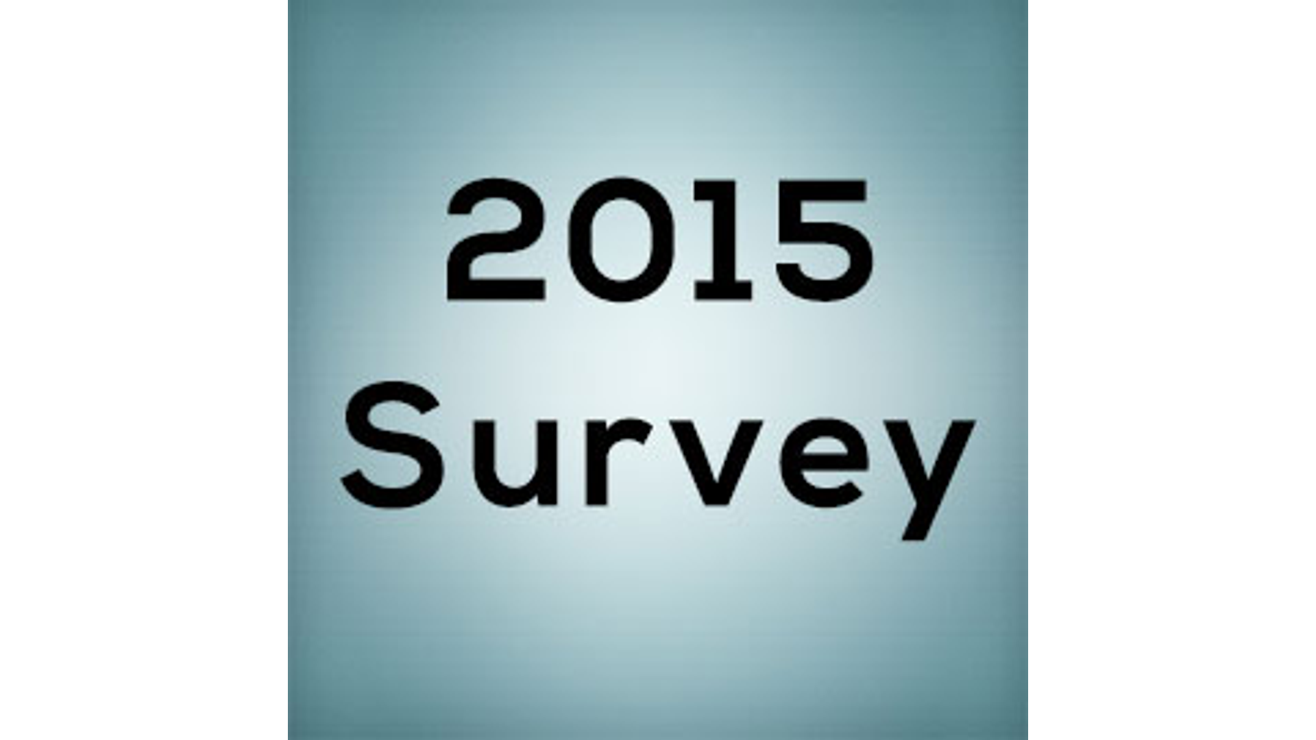 2015 Attend And Serve Survey Hero Image